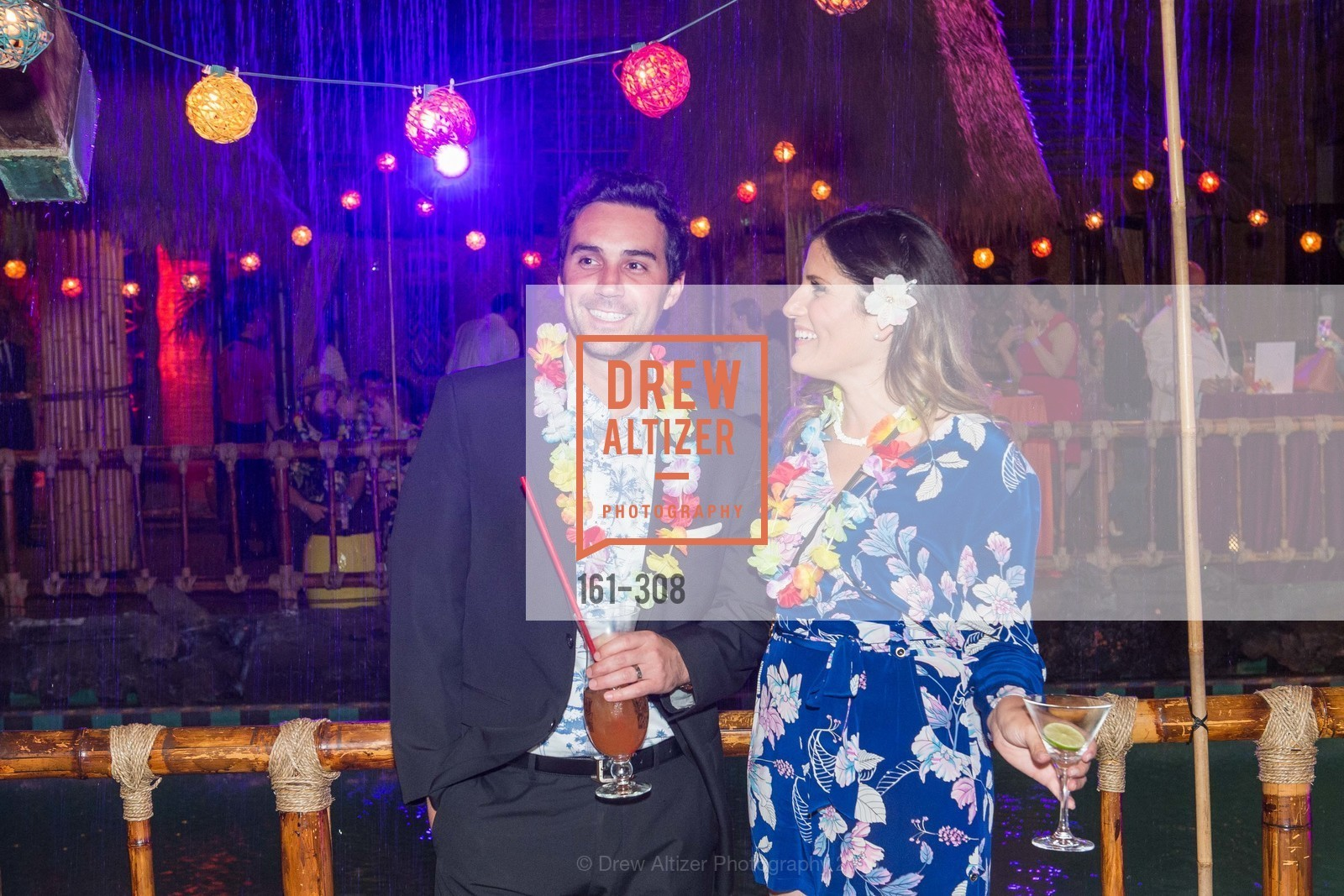 Sean Mullane, Karli Fried, Tonga Room & Hurricane Bar Celebrates 70 Years of Tiki Glory, Fairmont, September 23rd, 2015,Drew Altizer, Drew Altizer Photography, full-service agency, private events, San Francisco photographer, photographer california