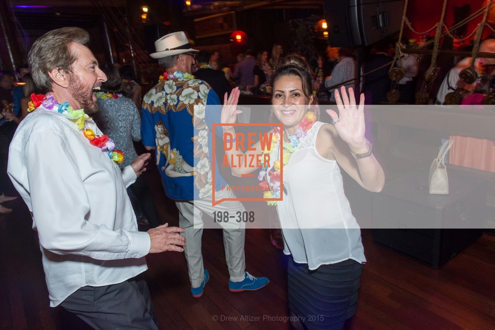Dance Floor, Tonga Room & Hurricane Bar Celebrates 70 Years of Tiki Glory, Fairmont, September 23rd, 2015,Drew Altizer, Drew Altizer Photography, full-service agency, private events, San Francisco photographer, photographer california