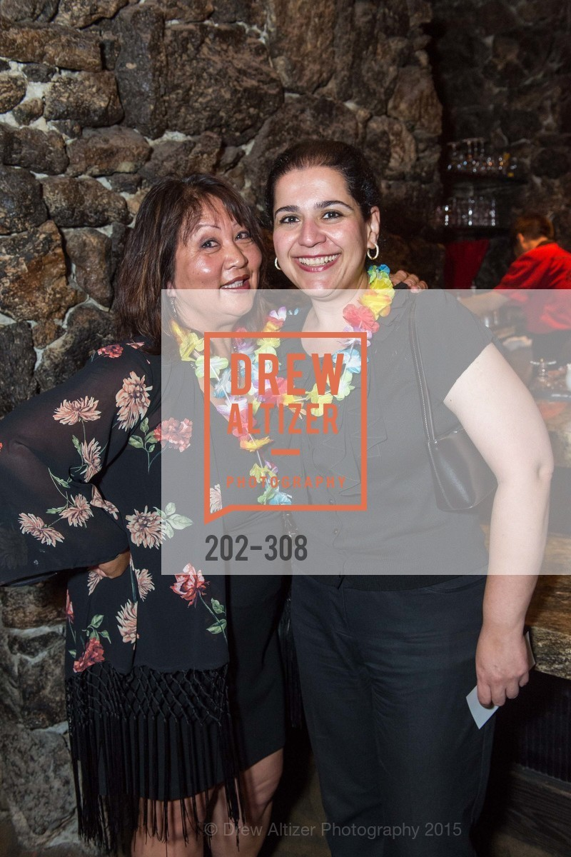 Kathy Tolentino, Neda Astharzadeh, Tonga Room & Hurricane Bar Celebrates 70 Years of Tiki Glory, Fairmont, September 23rd, 2015,Drew Altizer, Drew Altizer Photography, full-service agency, private events, San Francisco photographer, photographer california