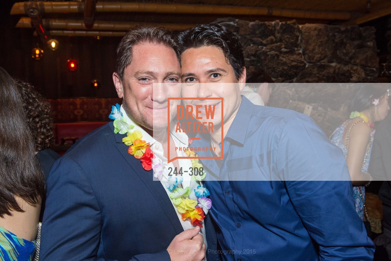 Liam Mayclem, Tonga Room & Hurricane Bar Celebrates 70 Years of Tiki Glory, Fairmont, September 23rd, 2015,Drew Altizer, Drew Altizer Photography, full-service agency, private events, San Francisco photographer, photographer california