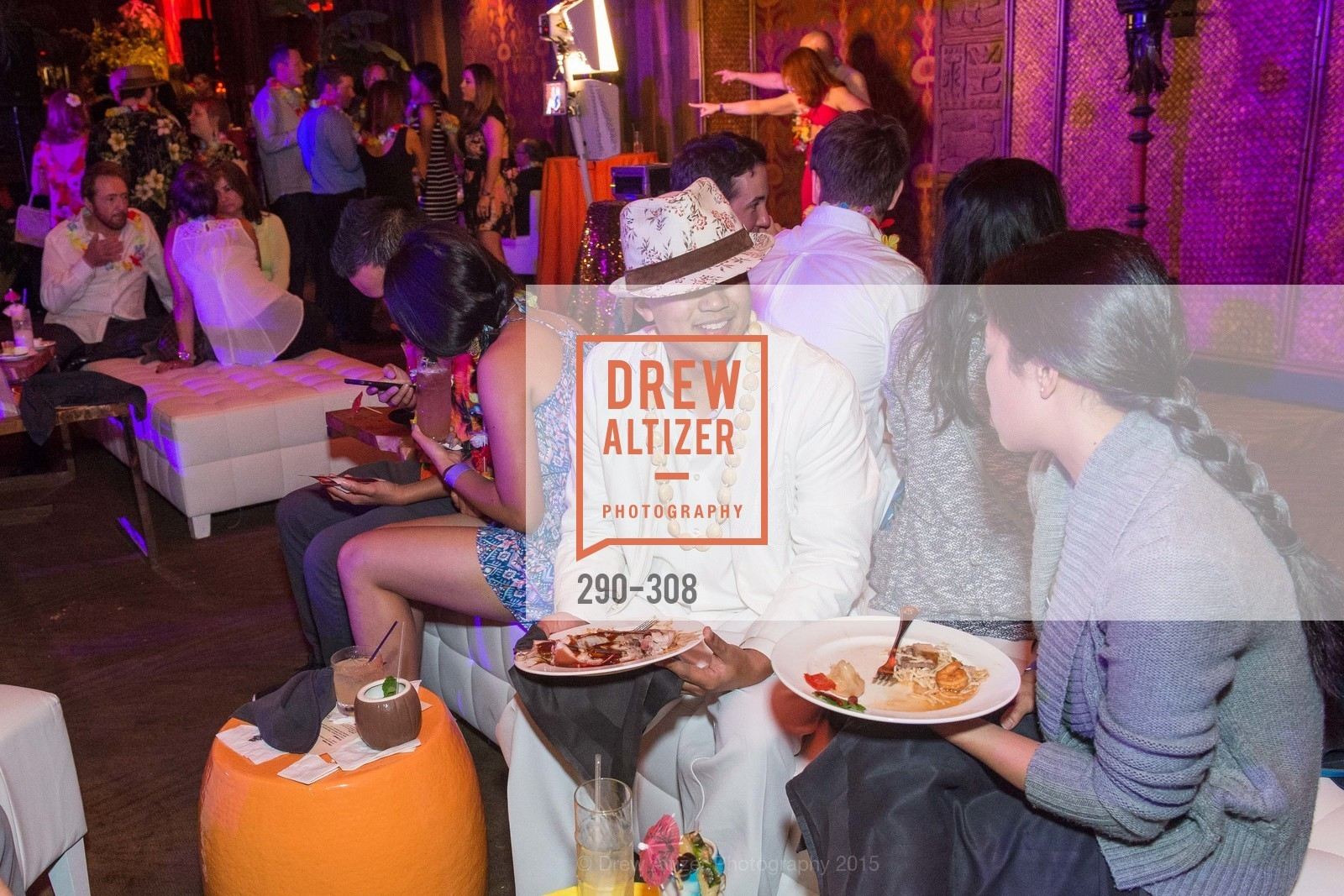 Atmosphere, Tonga Room & Hurricane Bar Celebrates 70 Years of Tiki Glory, Fairmont, September 23rd, 2015,Drew Altizer, Drew Altizer Photography, full-service agency, private events, San Francisco photographer, photographer california