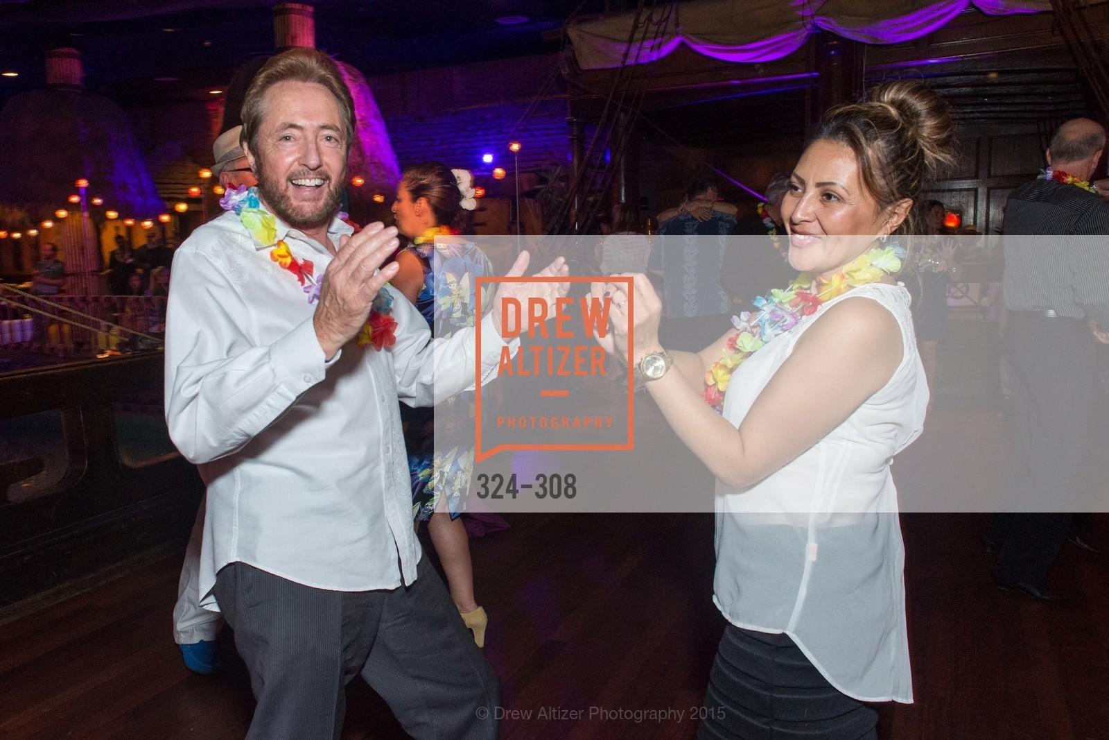 Dance Floor, Tonga Room & Hurricane Bar Celebrates 70 Years of Tiki Glory, Fairmont, September 23rd, 2015,Drew Altizer, Drew Altizer Photography, full-service agency, private events, San Francisco photographer, photographer california
