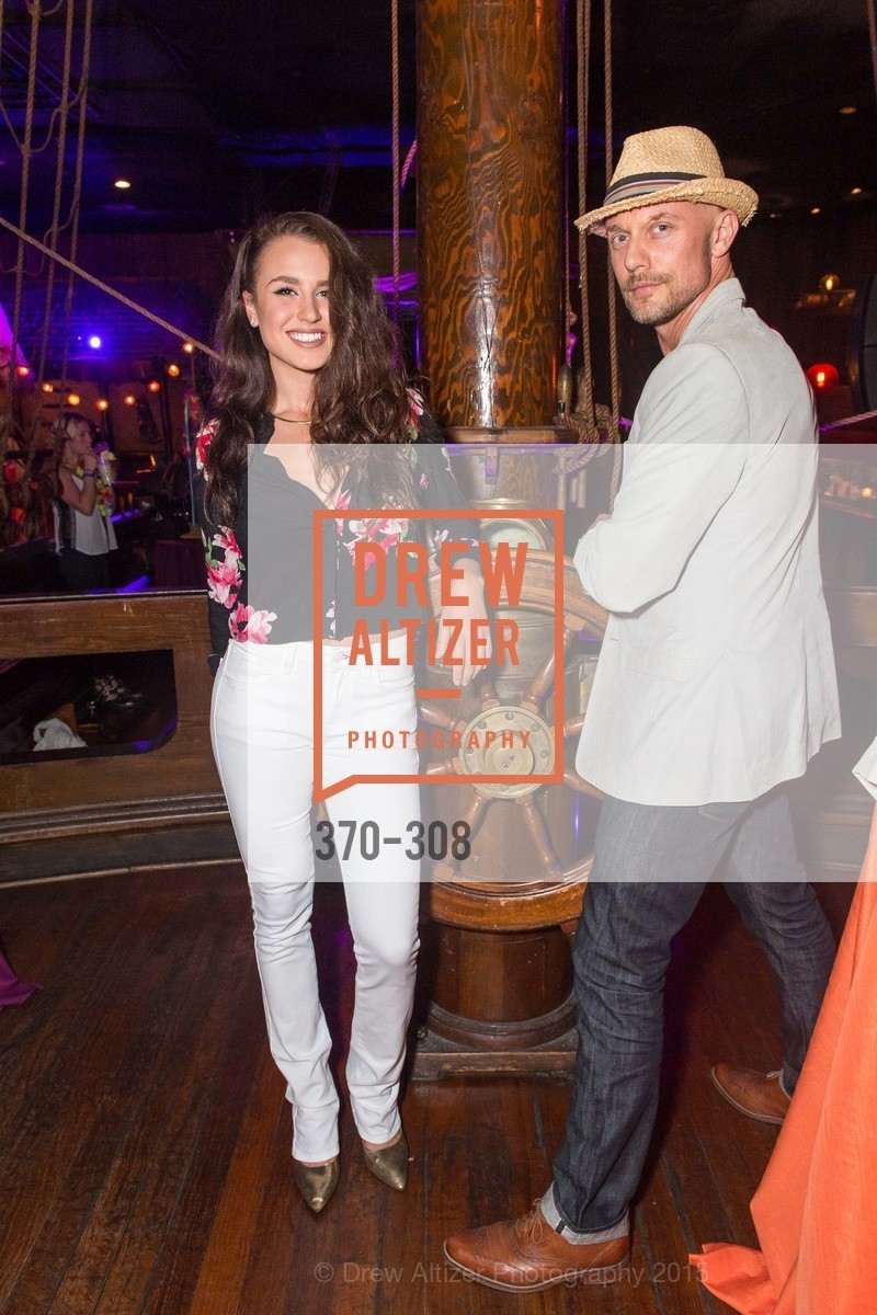 Chris Pessy, Ursula Bahamonden, Tonga Room & Hurricane Bar Celebrates 70 Years of Tiki Glory, Fairmont, September 23rd, 2015,Drew Altizer, Drew Altizer Photography, full-service event agency, private events, San Francisco photographer, photographer California