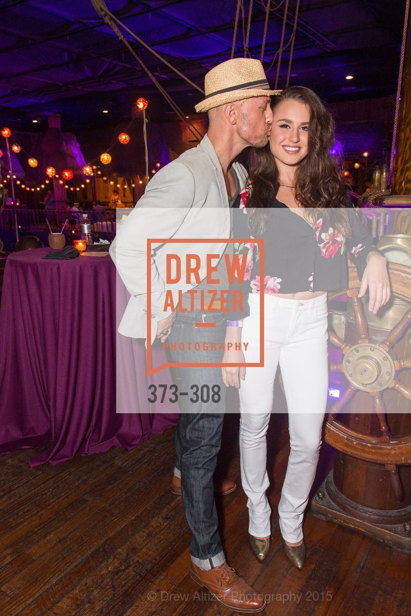 Chris Pessy, Ursula Bahamonden, Tonga Room & Hurricane Bar Celebrates 70 Years of Tiki Glory, Fairmont, September 23rd, 2015,Drew Altizer, Drew Altizer Photography, full-service agency, private events, San Francisco photographer, photographer california