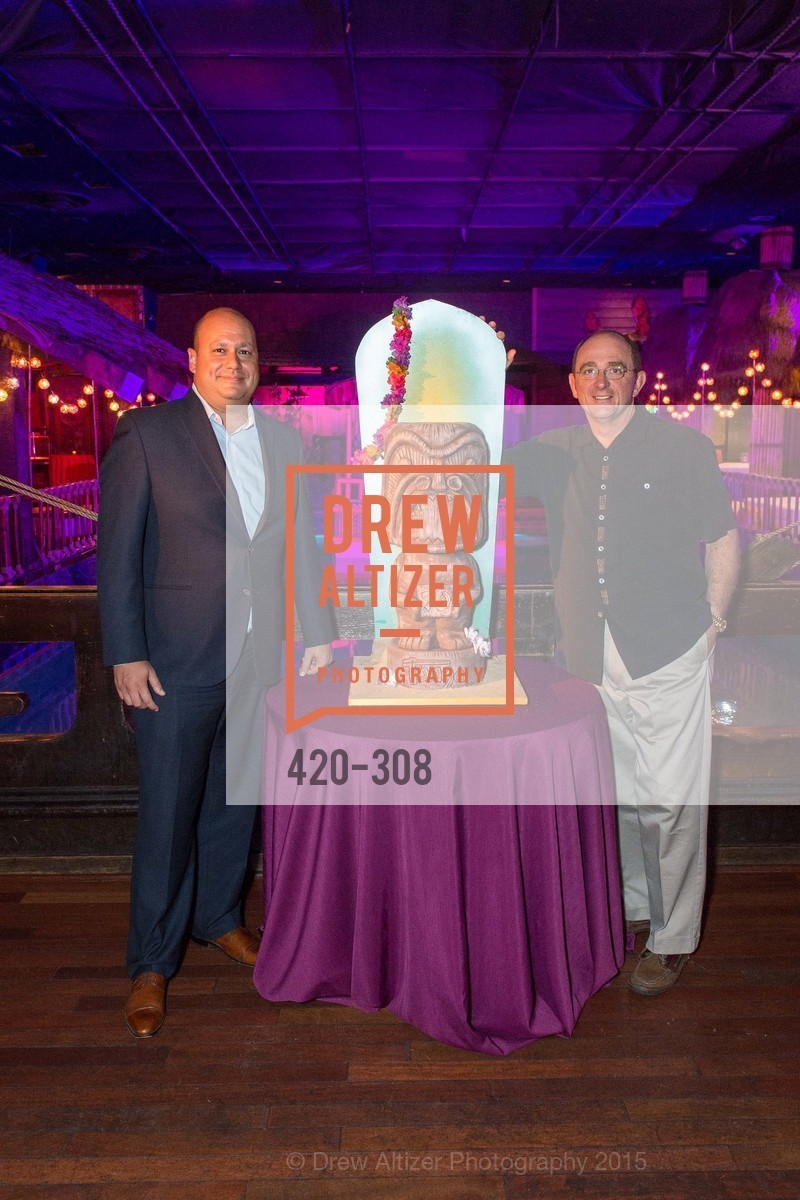Eric Overstreet, Tom Klein, Tonga Room & Hurricane Bar Celebrates 70 Years of Tiki Glory, Fairmont, September 23rd, 2015,Drew Altizer, Drew Altizer Photography, full-service agency, private events, San Francisco photographer, photographer california