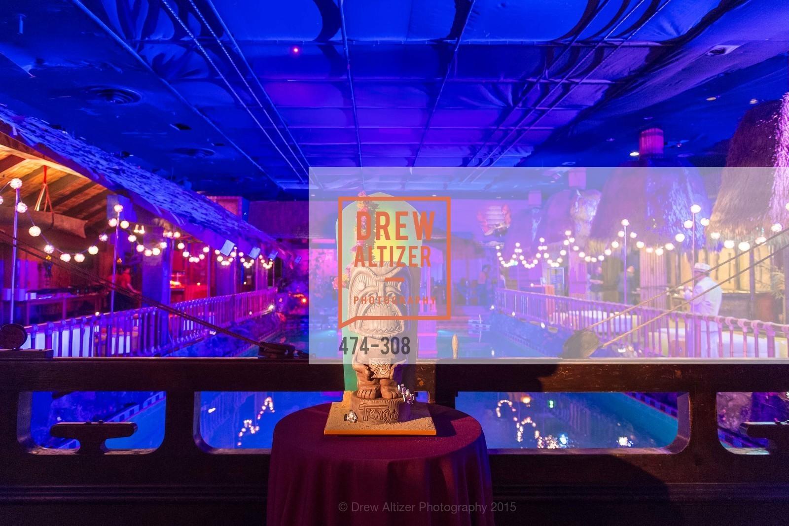 Atmosphere, Tonga Room & Hurricane Bar Celebrates 70 Years of Tiki Glory, Fairmont, September 23rd, 2015,Drew Altizer, Drew Altizer Photography, full-service agency, private events, San Francisco photographer, photographer california