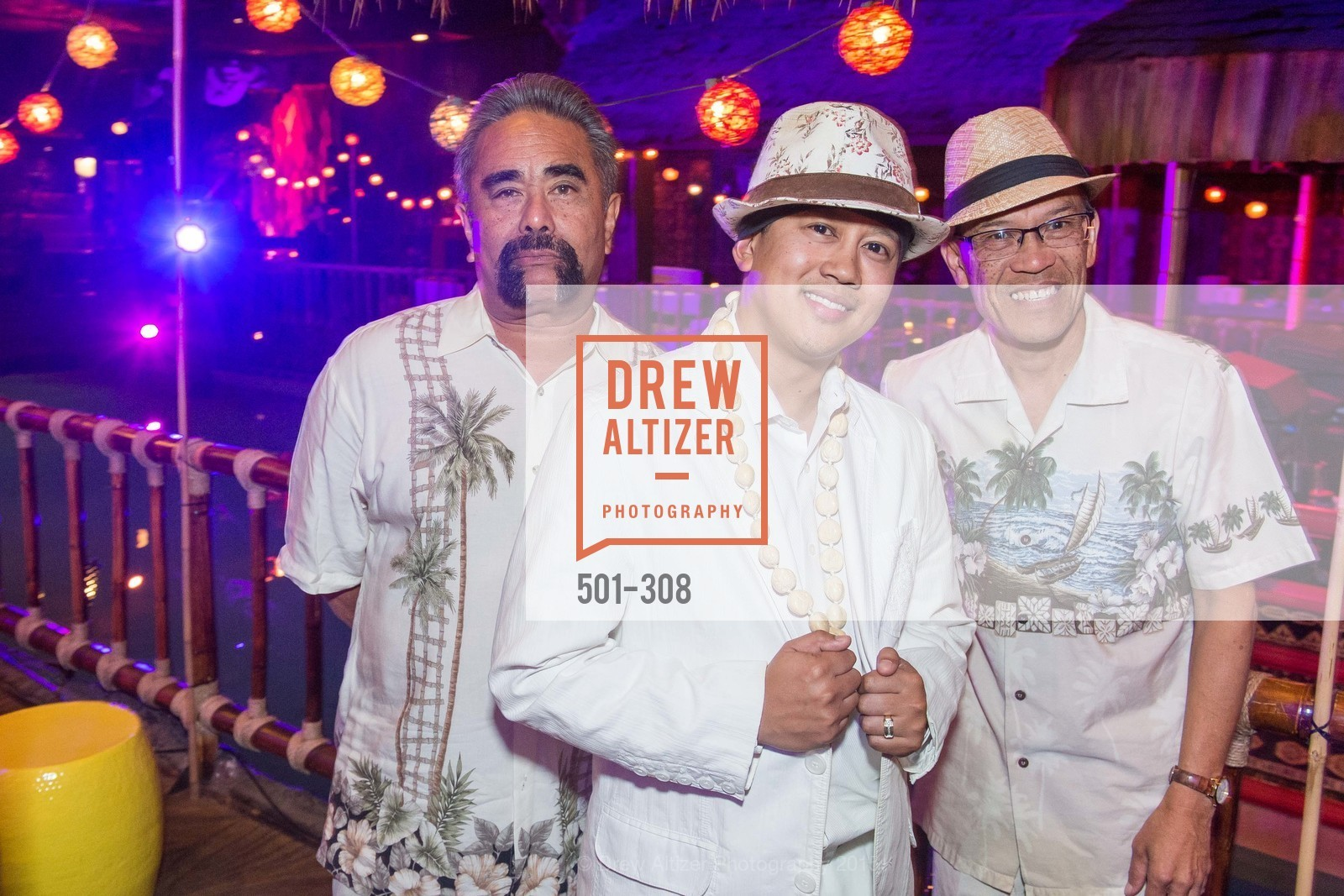 Vito Medina, CJ Simbre, Dean Revelo, Tonga Room & Hurricane Bar Celebrates 70 Years of Tiki Glory, Fairmont, September 23rd, 2015,Drew Altizer, Drew Altizer Photography, full-service agency, private events, San Francisco photographer, photographer california