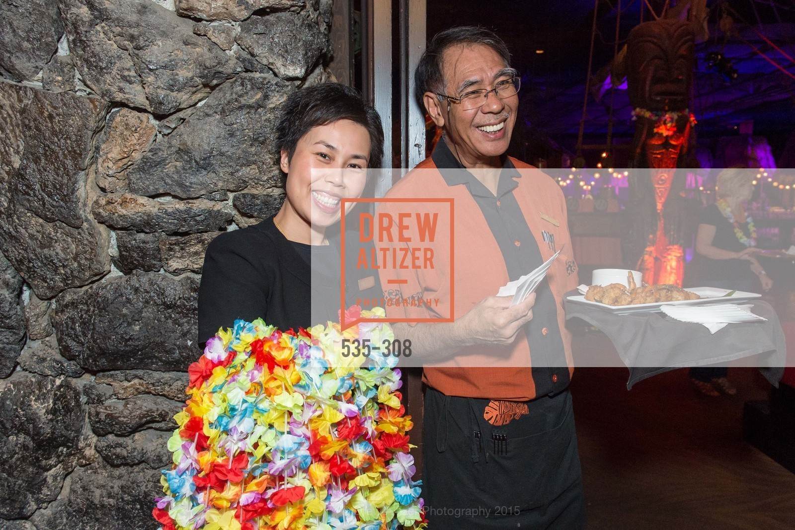 Holly Chen, Richard Lee, Tonga Room & Hurricane Bar Celebrates 70 Years of Tiki Glory, Fairmont, September 23rd, 2015,Drew Altizer, Drew Altizer Photography, full-service agency, private events, San Francisco photographer, photographer california