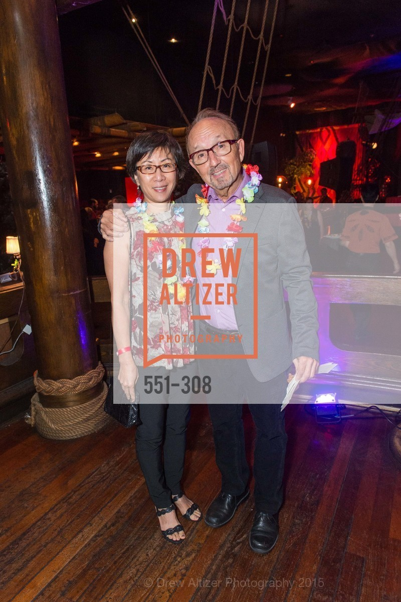 Sau Le, Richard Doblin, Tonga Room & Hurricane Bar Celebrates 70 Years of Tiki Glory, Fairmont, September 23rd, 2015,Drew Altizer, Drew Altizer Photography, full-service agency, private events, San Francisco photographer, photographer california