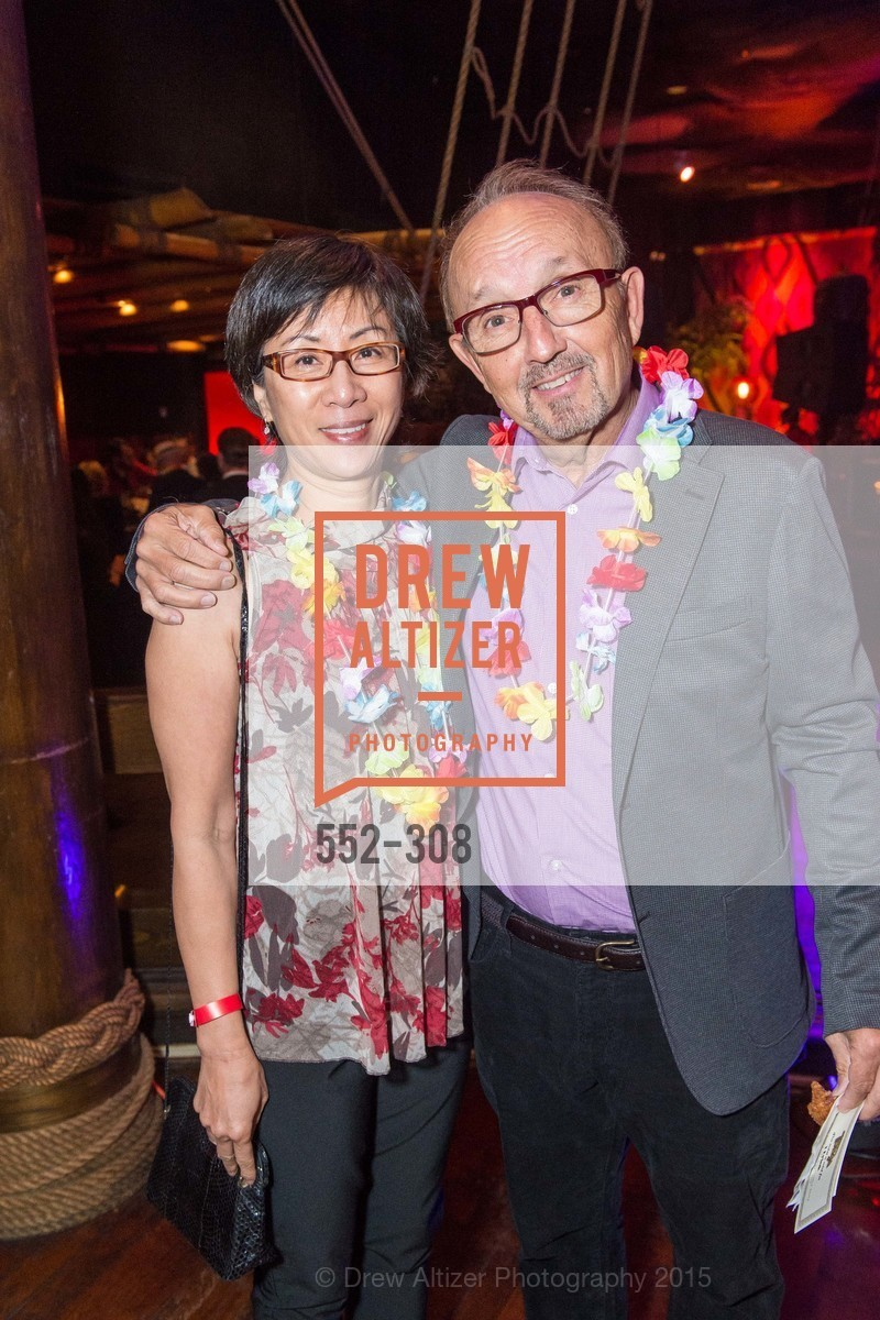 Sau Le, Richard Doblin, Tonga Room & Hurricane Bar Celebrates 70 Years of Tiki Glory, Fairmont, September 23rd, 2015,Drew Altizer, Drew Altizer Photography, full-service agency, private events, San Francisco photographer, photographer california