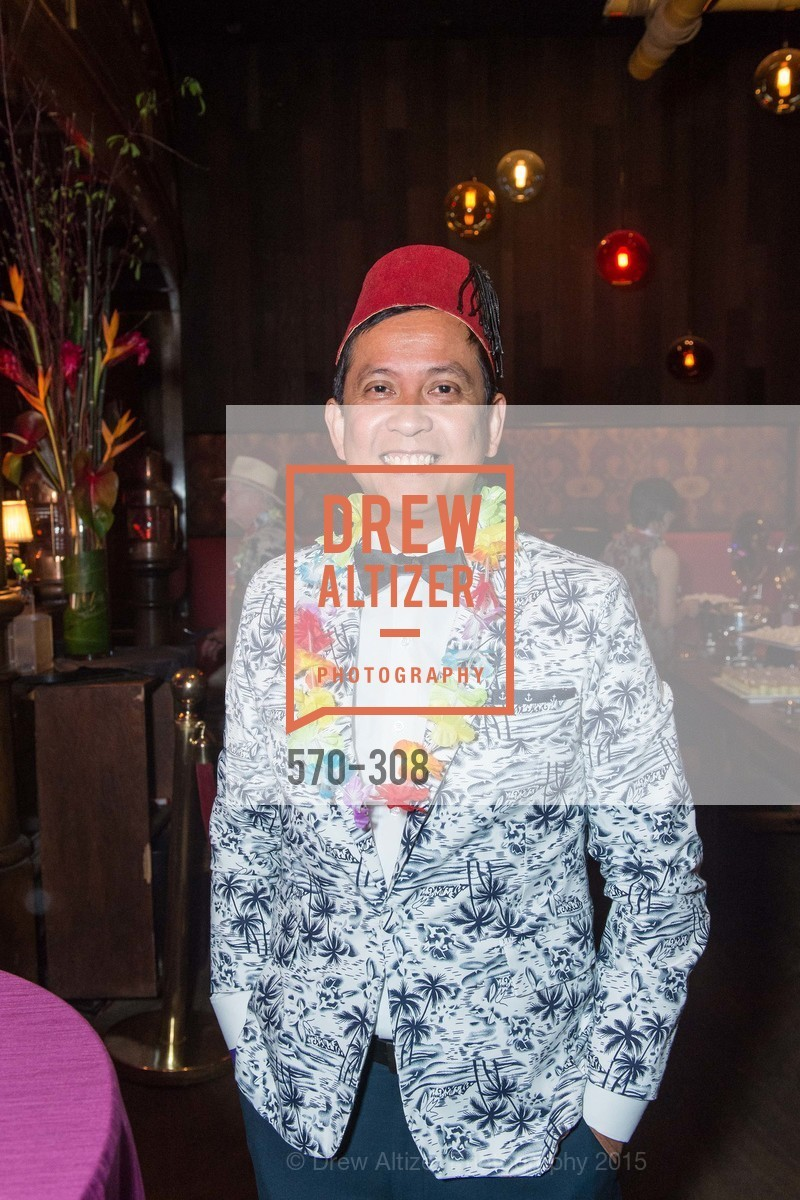 Jose Tiburcio, Tonga Room & Hurricane Bar Celebrates 70 Years of Tiki Glory, Fairmont, September 23rd, 2015,Drew Altizer, Drew Altizer Photography, full-service event agency, private events, San Francisco photographer, photographer California