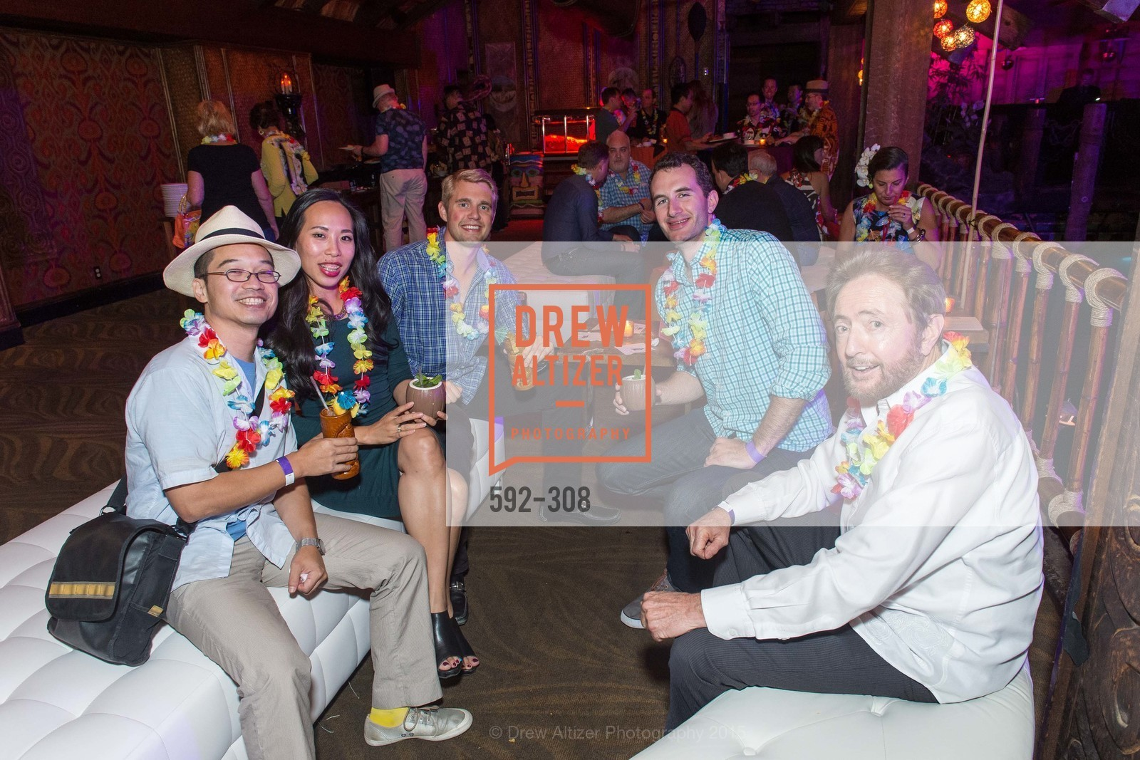 Anh Tran, Chris Hunt, Sutt Tashjian, Larry Agnew, Tonga Room & Hurricane Bar Celebrates 70 Years of Tiki Glory, Fairmont, September 23rd, 2015,Drew Altizer, Drew Altizer Photography, full-service agency, private events, San Francisco photographer, photographer california