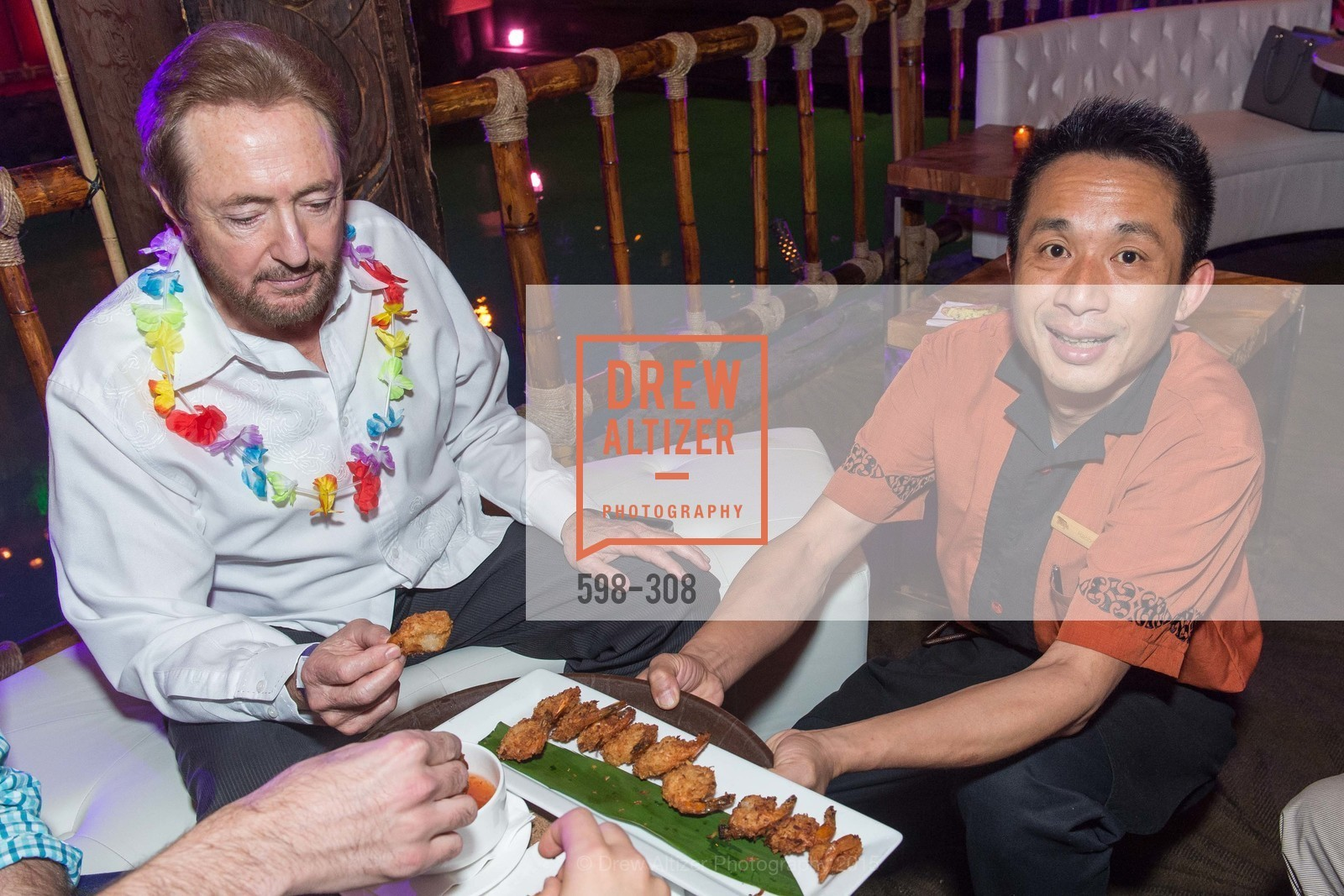 Larry Agnew, Tonga Room & Hurricane Bar Celebrates 70 Years of Tiki Glory, Fairmont, September 23rd, 2015,Drew Altizer, Drew Altizer Photography, full-service agency, private events, San Francisco photographer, photographer california