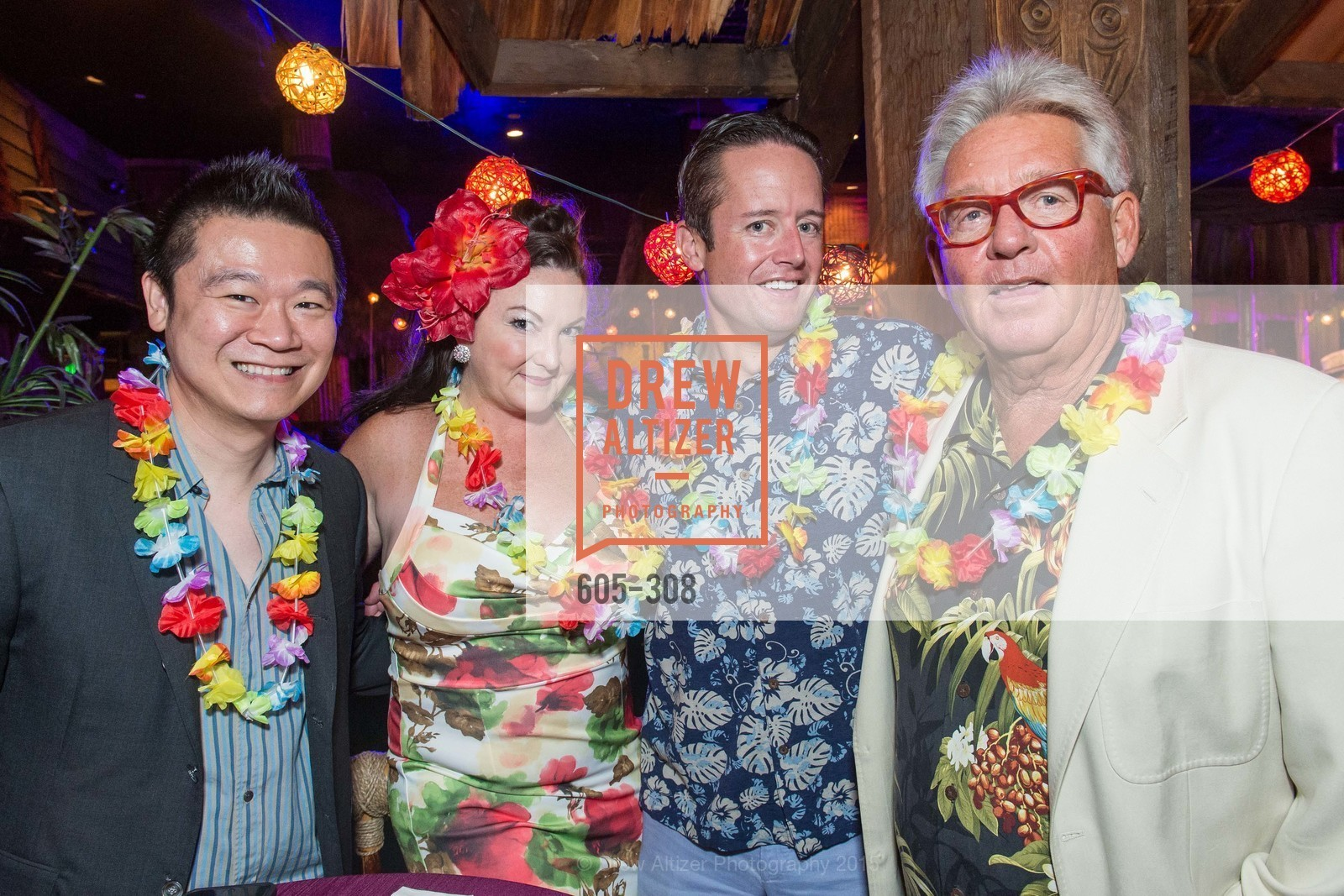 Kevin Hsu, Clara Sabatty Stammel, Randy Laubhan, Tonga Room & Hurricane Bar Celebrates 70 Years of Tiki Glory, Fairmont, September 23rd, 2015,Drew Altizer, Drew Altizer Photography, full-service agency, private events, San Francisco photographer, photographer california