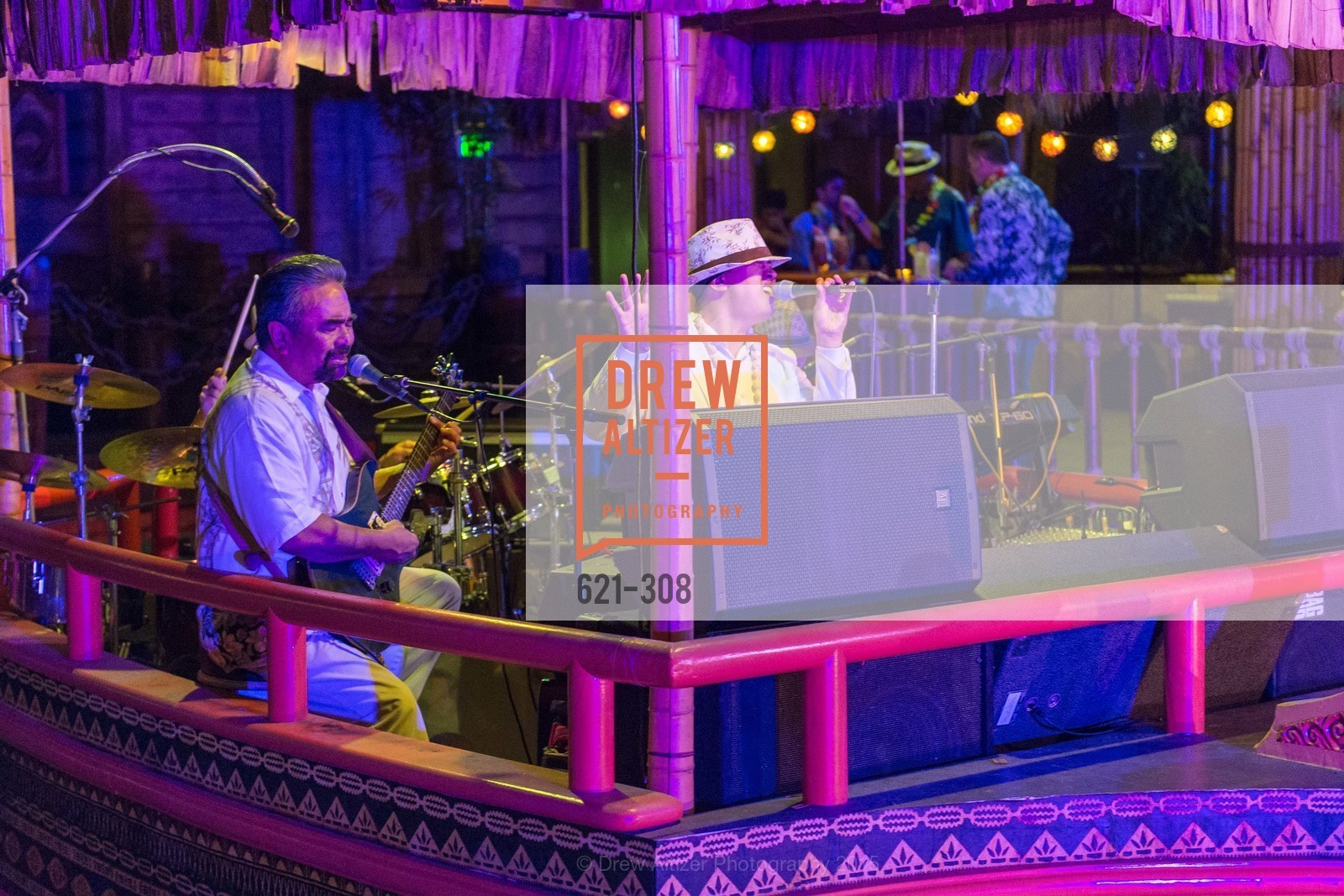 Performers, Tonga Room & Hurricane Bar Celebrates 70 Years of Tiki Glory, Fairmont, September 23rd, 2015,Drew Altizer, Drew Altizer Photography, full-service agency, private events, San Francisco photographer, photographer california
