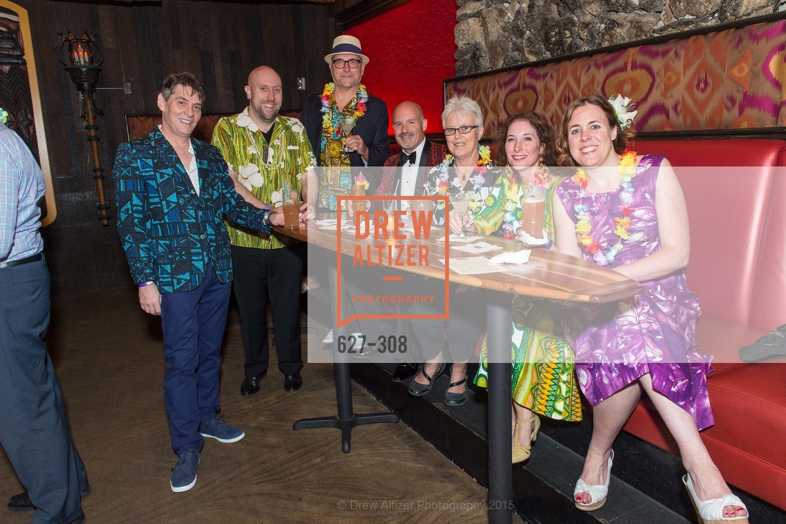 Jules Bain, Otto von Stroheim, John Coyle, Kathy Wartelle, Brenda Gray, Tonga Room & Hurricane Bar Celebrates 70 Years of Tiki Glory, Fairmont, September 23rd, 2015,Drew Altizer, Drew Altizer Photography, full-service agency, private events, San Francisco photographer, photographer california