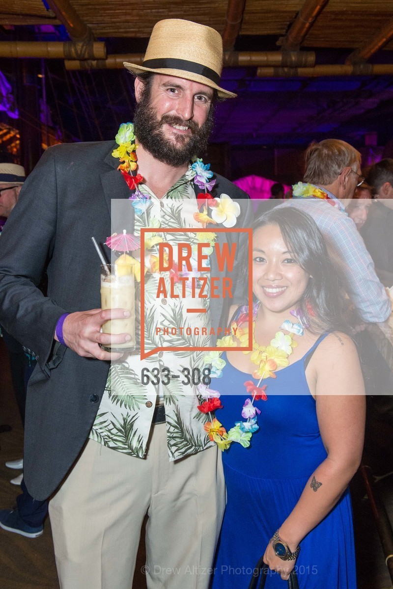 Daniel Pafax, Deborah Tiniano, Tonga Room & Hurricane Bar Celebrates 70 Years of Tiki Glory, Fairmont, September 23rd, 2015,Drew Altizer, Drew Altizer Photography, full-service agency, private events, San Francisco photographer, photographer california