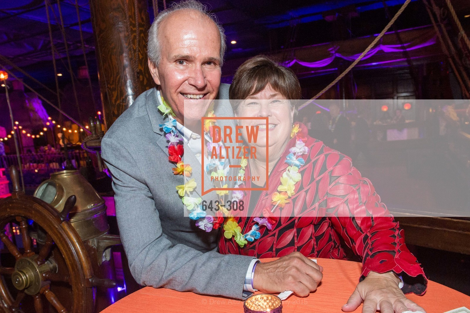 Bob Myer, Janet Bates, Tonga Room & Hurricane Bar Celebrates 70 Years of Tiki Glory, Fairmont, September 23rd, 2015,Drew Altizer, Drew Altizer Photography, full-service agency, private events, San Francisco photographer, photographer california