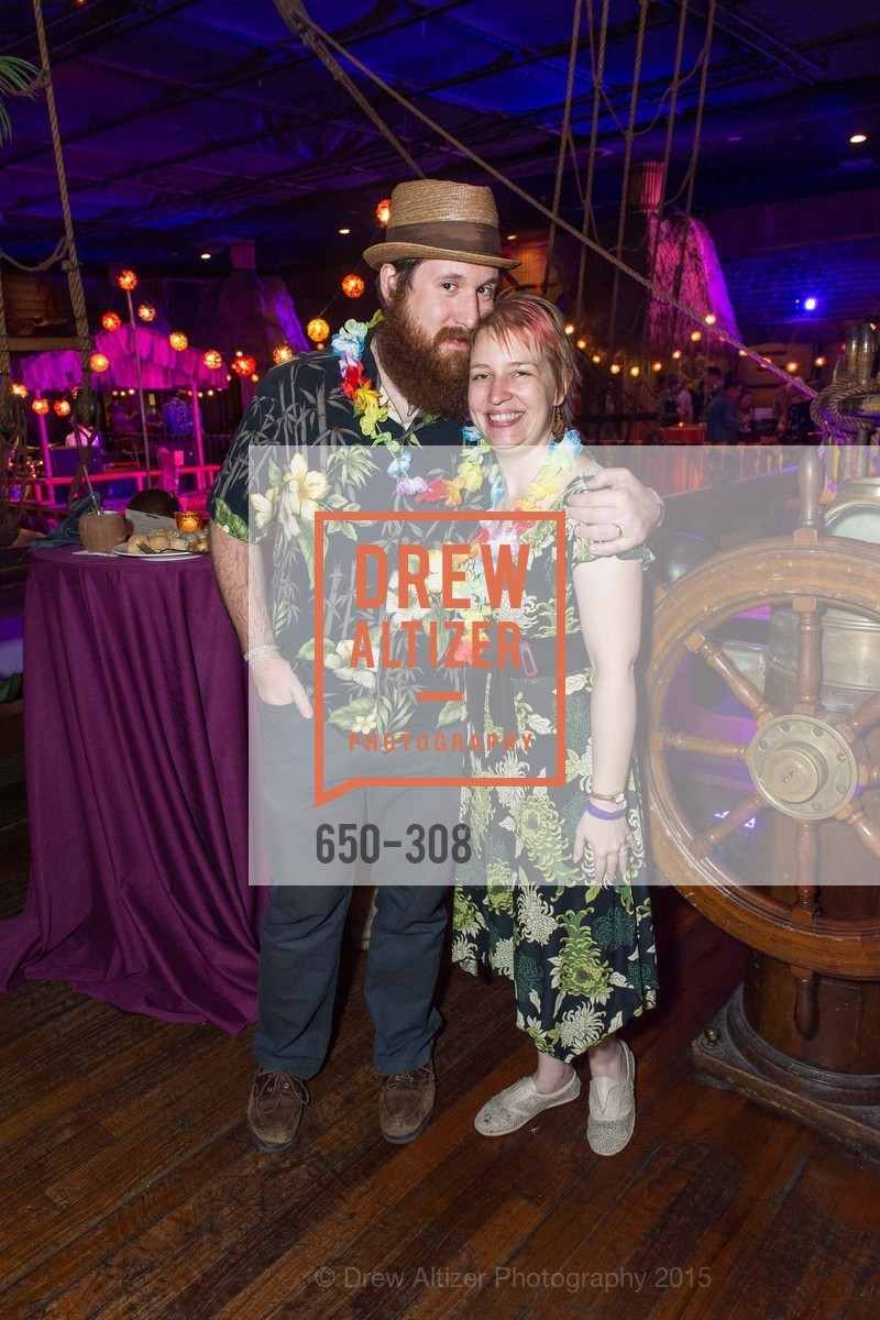 Logan Ellena, Laura Ellena, Tonga Room & Hurricane Bar Celebrates 70 Years of Tiki Glory, Fairmont, September 23rd, 2015,Drew Altizer, Drew Altizer Photography, full-service agency, private events, San Francisco photographer, photographer california