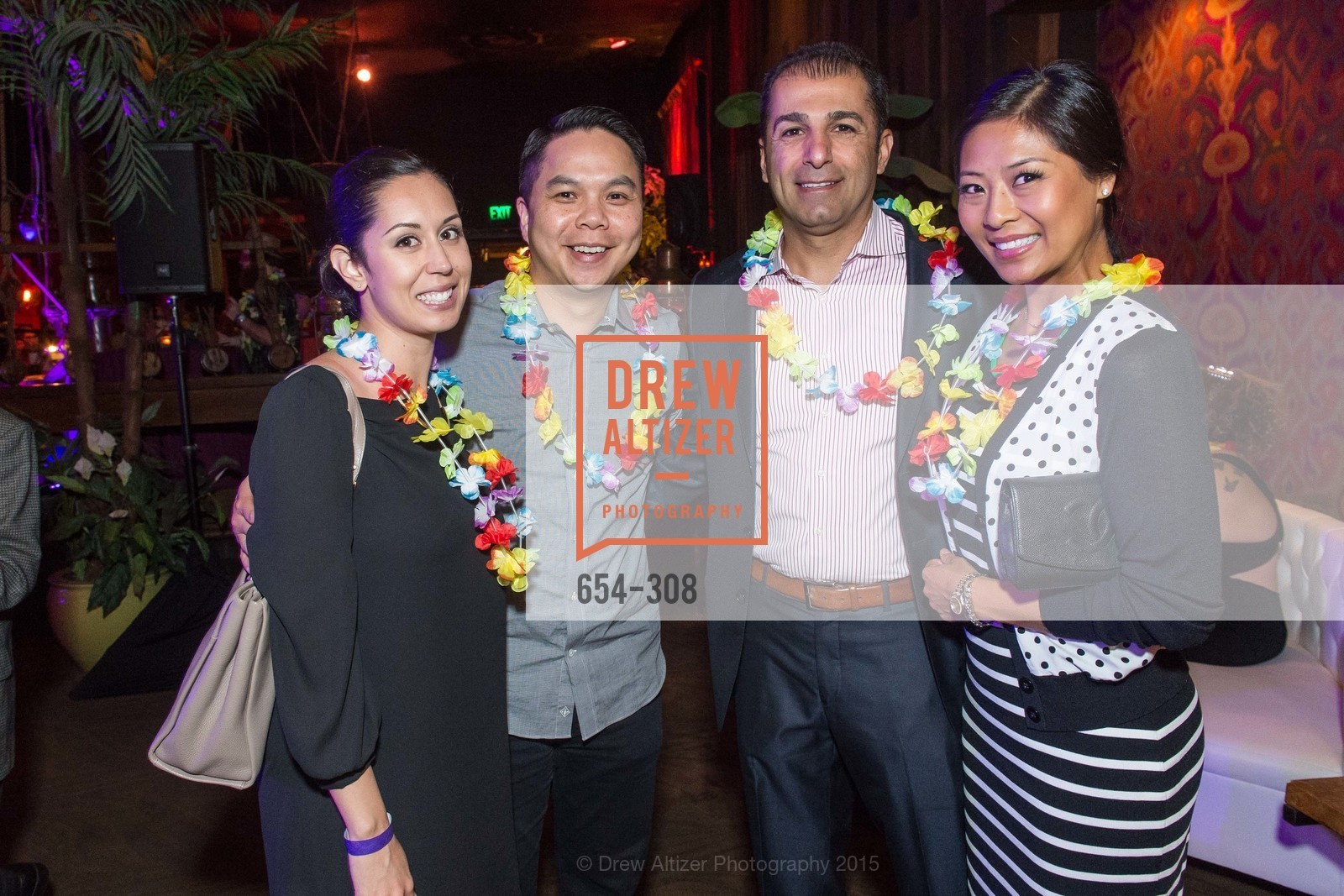 Jamie Wong, Shael Bazouzi, Tammy Leong Bazouzi, Tonga Room & Hurricane Bar Celebrates 70 Years of Tiki Glory, Fairmont, September 23rd, 2015,Drew Altizer, Drew Altizer Photography, full-service agency, private events, San Francisco photographer, photographer california