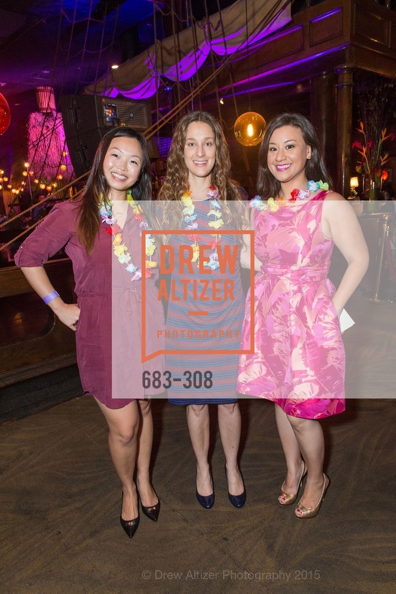 Tiffany Mah, Brie Drever, Sheila Farrar, Tonga Room & Hurricane Bar Celebrates 70 Years of Tiki Glory, Fairmont, September 23rd, 2015,Drew Altizer, Drew Altizer Photography, full-service agency, private events, San Francisco photographer, photographer california