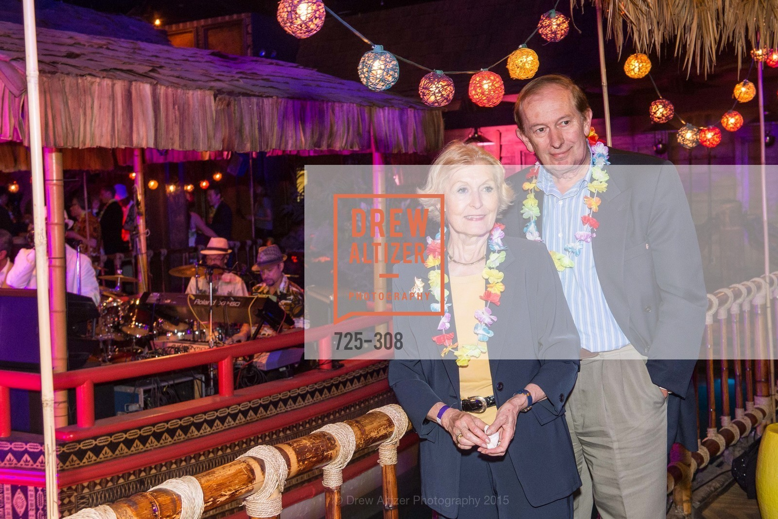 Eva Voisin, Paul Voisin, Tonga Room & Hurricane Bar Celebrates 70 Years of Tiki Glory, Fairmont, September 23rd, 2015,Drew Altizer, Drew Altizer Photography, full-service agency, private events, San Francisco photographer, photographer california