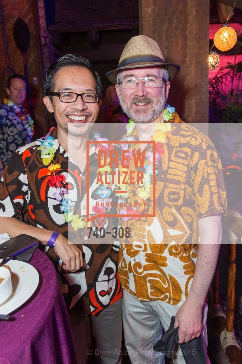 Jeff Tabaco, Thom Watson, Tonga Room & Hurricane Bar Celebrates 70 Years of Tiki Glory, Fairmont, September 23rd, 2015,Drew Altizer, Drew Altizer Photography, full-service agency, private events, San Francisco photographer, photographer california