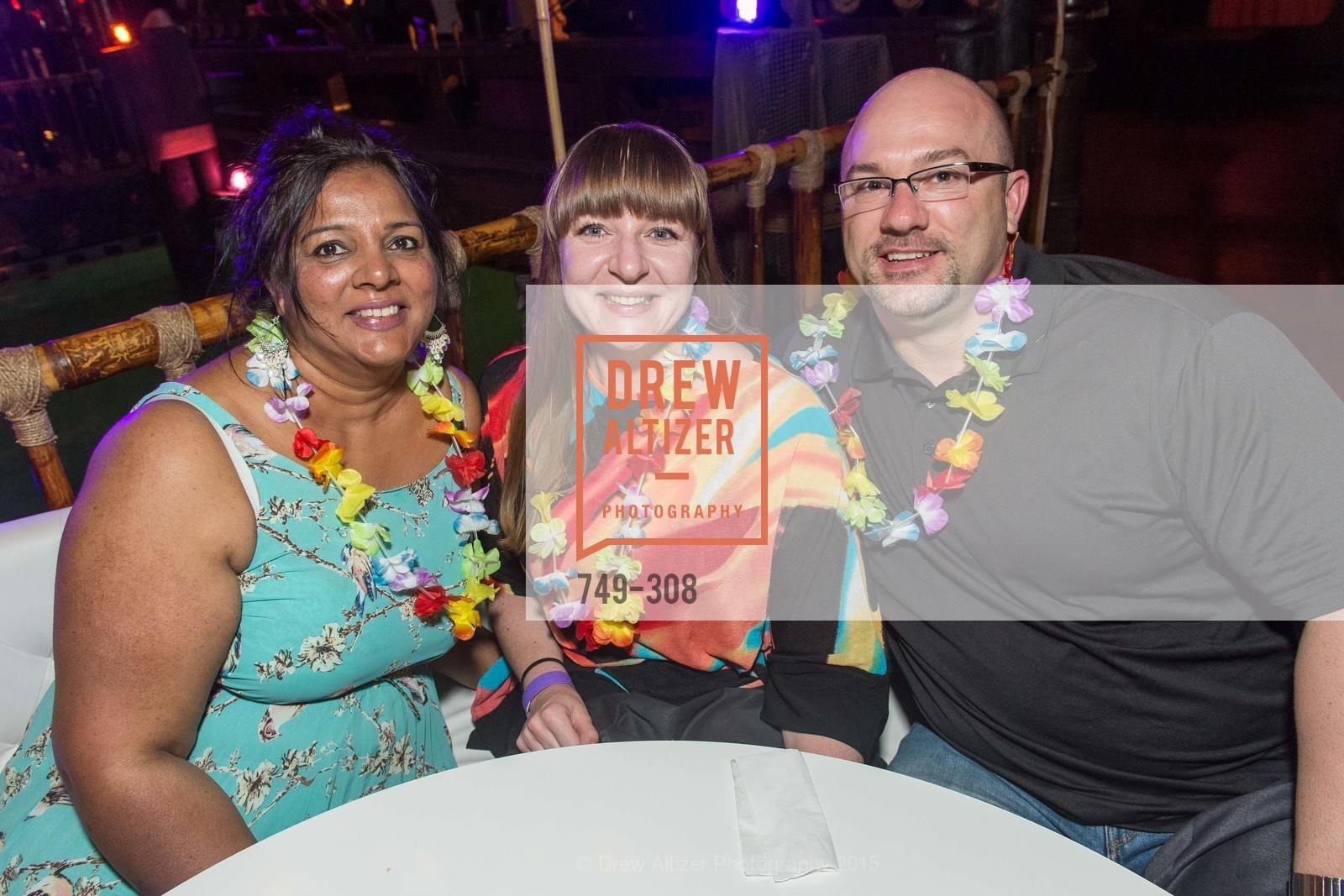 Jade Rao, Shannon Cootechok, Brad Eslinger, Tonga Room & Hurricane Bar Celebrates 70 Years of Tiki Glory, Fairmont, September 23rd, 2015,Drew Altizer, Drew Altizer Photography, full-service agency, private events, San Francisco photographer, photographer california