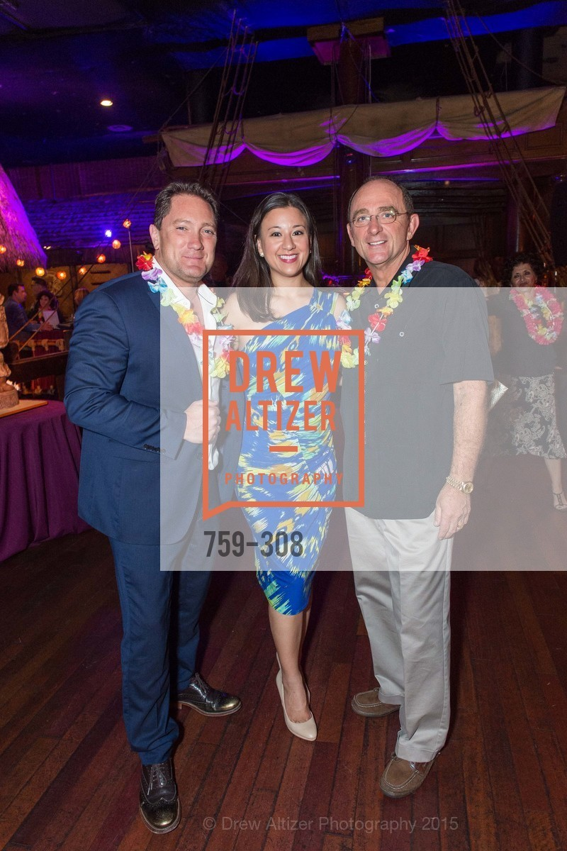 Liam Mayclem, Melissa Farrar, Tom Klein, Tonga Room & Hurricane Bar Celebrates 70 Years of Tiki Glory, Fairmont, September 23rd, 2015,Drew Altizer, Drew Altizer Photography, full-service agency, private events, San Francisco photographer, photographer california