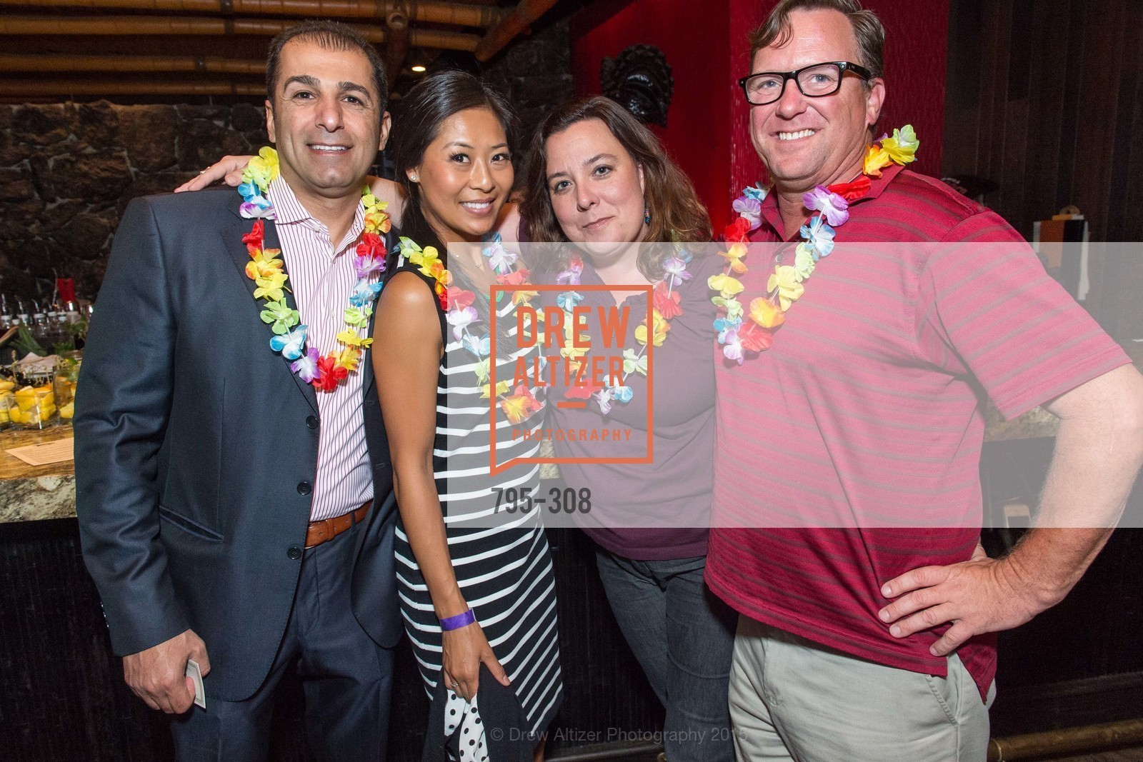Nicole Blakely, Jimmy Berg, Tonga Room & Hurricane Bar Celebrates 70 Years of Tiki Glory, Fairmont, September 23rd, 2015,Drew Altizer, Drew Altizer Photography, full-service agency, private events, San Francisco photographer, photographer california