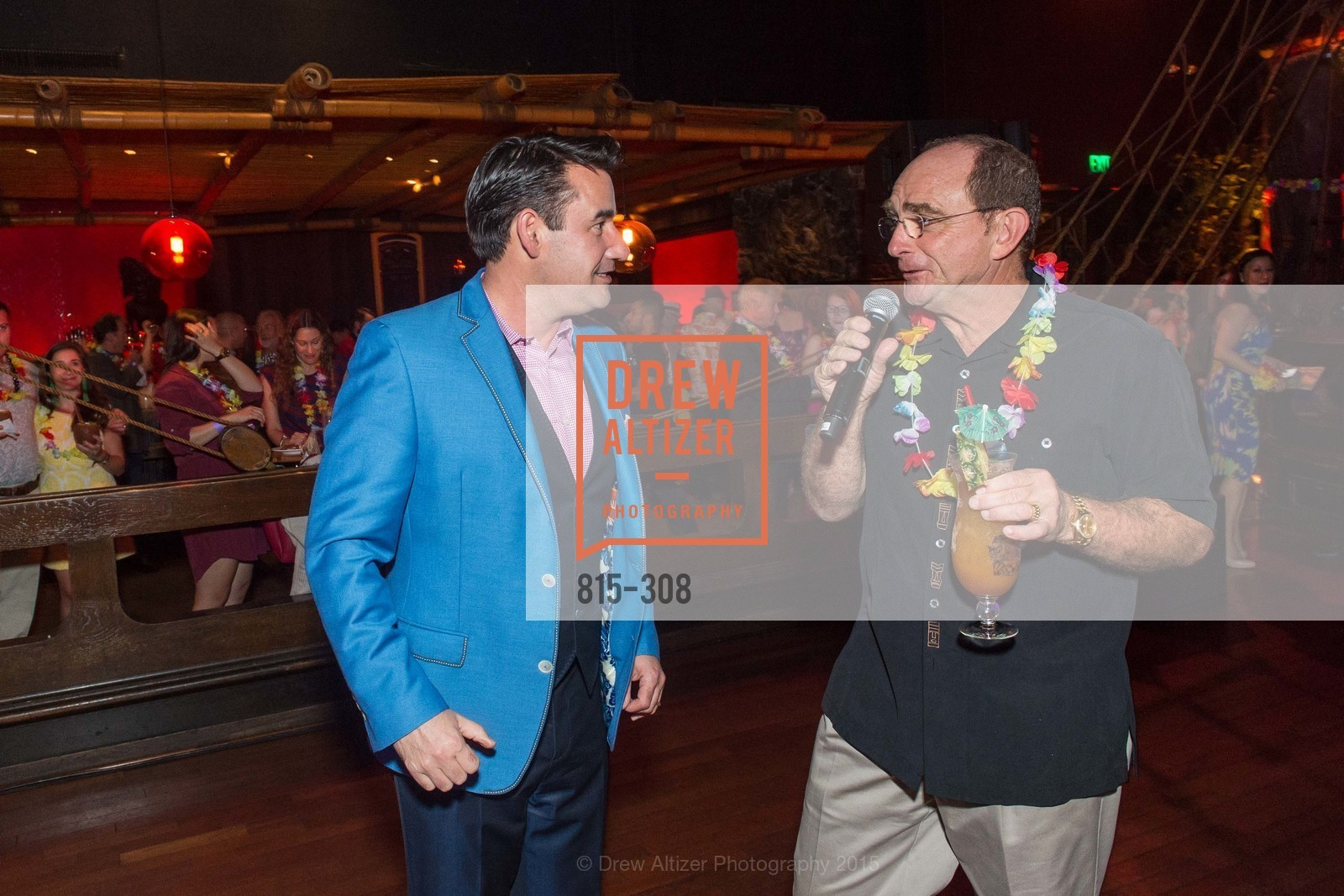 Joel Riddell, Tom Klein, Tonga Room & Hurricane Bar Celebrates 70 Years of Tiki Glory, Fairmont, September 23rd, 2015