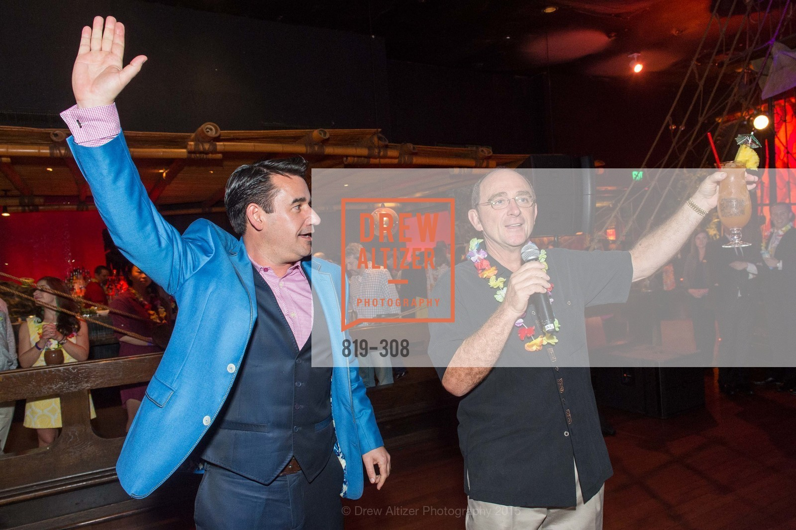 Joel Riddell, Tom Klein, Tonga Room & Hurricane Bar Celebrates 70 Years of Tiki Glory, Fairmont, September 23rd, 2015,Drew Altizer, Drew Altizer Photography, full-service agency, private events, San Francisco photographer, photographer california