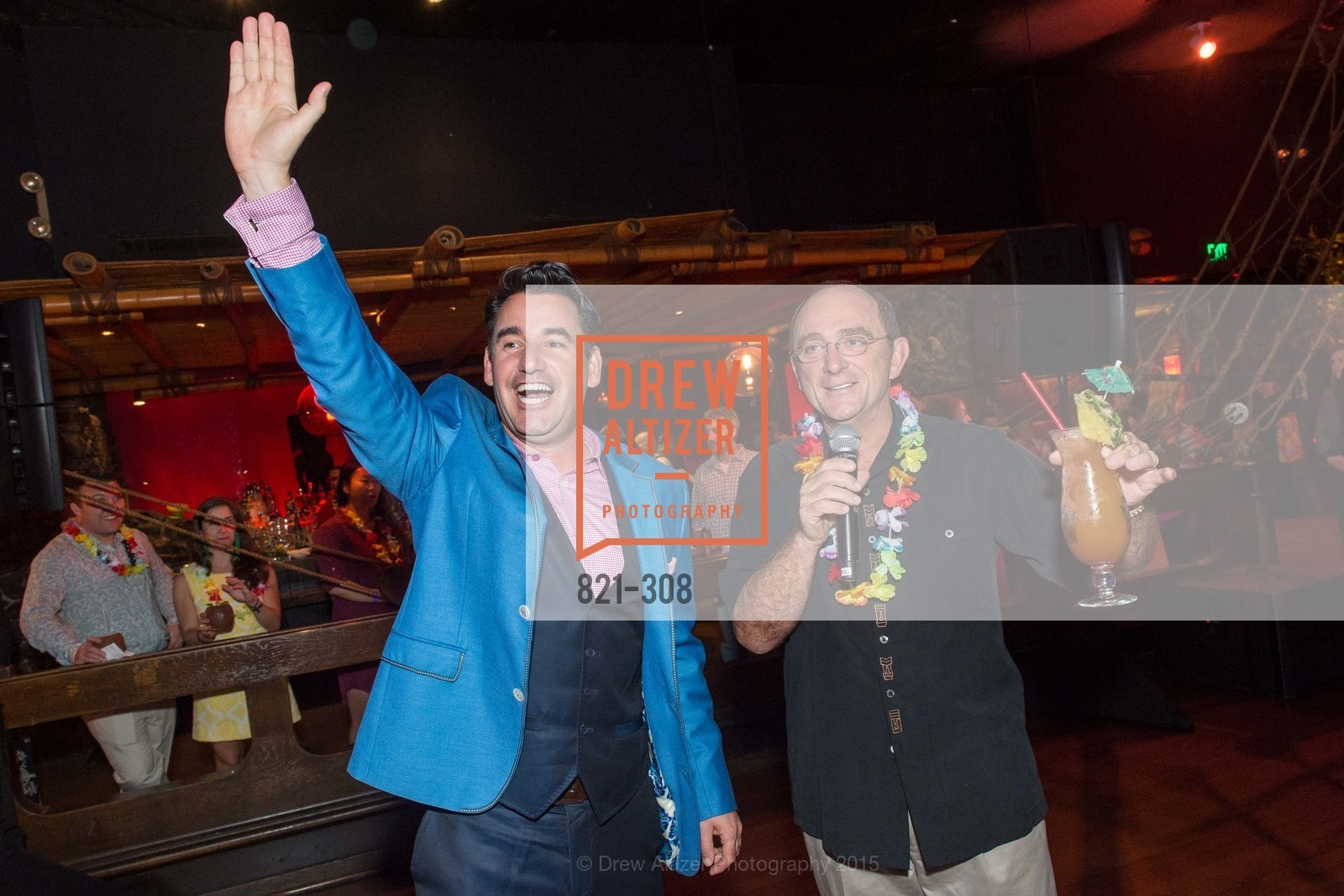Joel Riddell, Tom Klein, Tonga Room & Hurricane Bar Celebrates 70 Years of Tiki Glory, Fairmont, September 23rd, 2015,Drew Altizer, Drew Altizer Photography, full-service event agency, private events, San Francisco photographer, photographer California