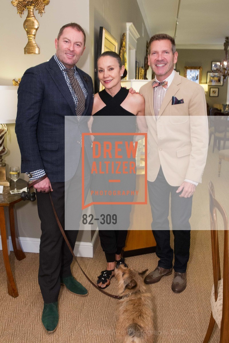 Thierry Buisson, Carol Ann Werner, Eric Petsinger, The San Francisco Fall Antiques Show Designer's Circle cocktail party hosted by epoca, Epoca, September 23rd, 2015,Drew Altizer, Drew Altizer Photography, full-service agency, private events, San Francisco photographer, photographer california