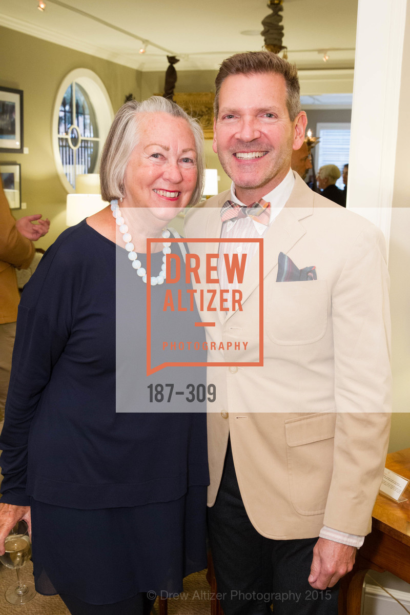Sally Swing, Eric Petsinger, The San Francisco Fall Antiques Show Designer's Circle cocktail party hosted by epoca, Epoca, September 23rd, 2015,Drew Altizer, Drew Altizer Photography, full-service agency, private events, San Francisco photographer, photographer california