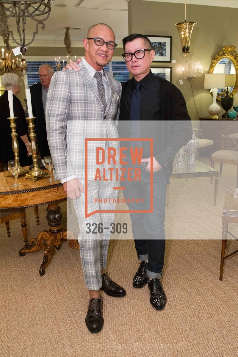 Troy Anicete, James Fong, The San Francisco Fall Antiques Show Designer's Circle cocktail party hosted by epoca, Epoca, September 23rd, 2015,Drew Altizer, Drew Altizer Photography, full-service agency, private events, San Francisco photographer, photographer california