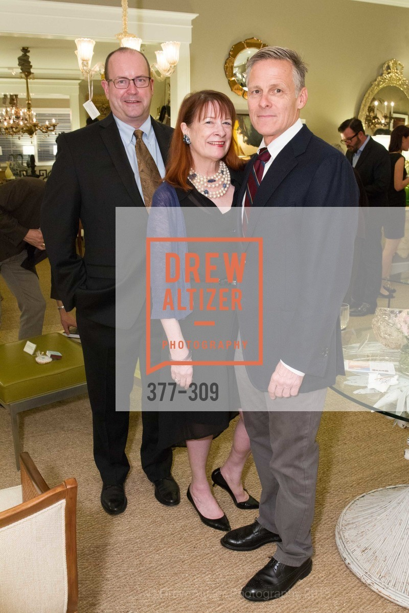 Dean McCracken, Kendra Boutell, Jack Hutton, The San Francisco Fall Antiques Show Designer's Circle cocktail party hosted by epoca, Epoca, September 23rd, 2015,Drew Altizer, Drew Altizer Photography, full-service agency, private events, San Francisco photographer, photographer california