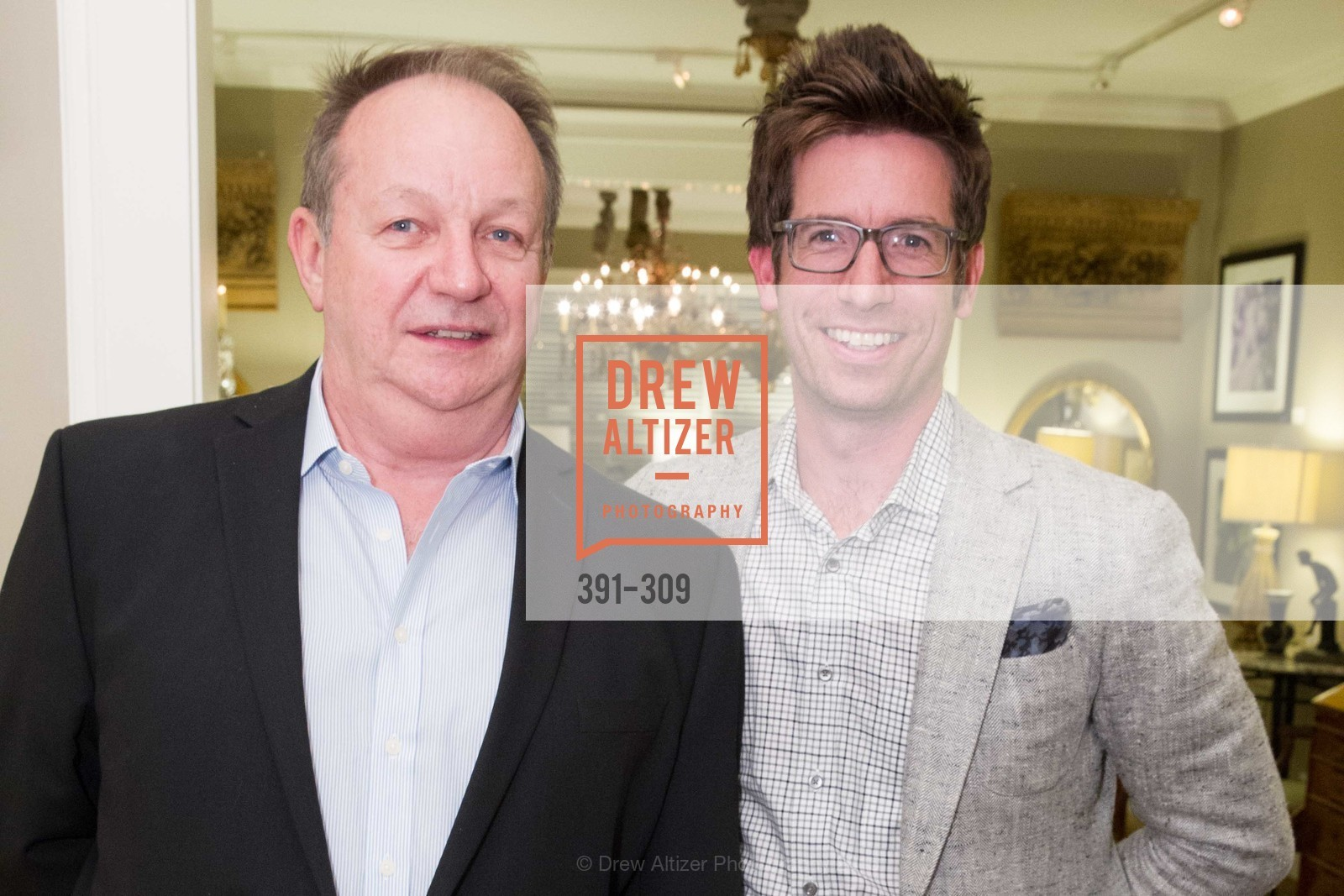 Philip Zola, Jeff Schlarb, The San Francisco Fall Antiques Show Designer's Circle cocktail party hosted by epoca, Epoca, September 23rd, 2015,Drew Altizer, Drew Altizer Photography, full-service agency, private events, San Francisco photographer, photographer california