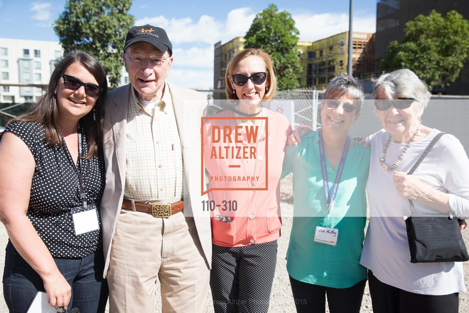 Art Ablin, Susan Neff, Kate Matthay, Debbie Ablin, Nancy and Stephen Grand Family House Topping Off Ceremony, Family House. 540 Mission Bay Blvd, September 24th, 2015,Drew Altizer, Drew Altizer Photography, full-service agency, private events, San Francisco photographer, photographer california