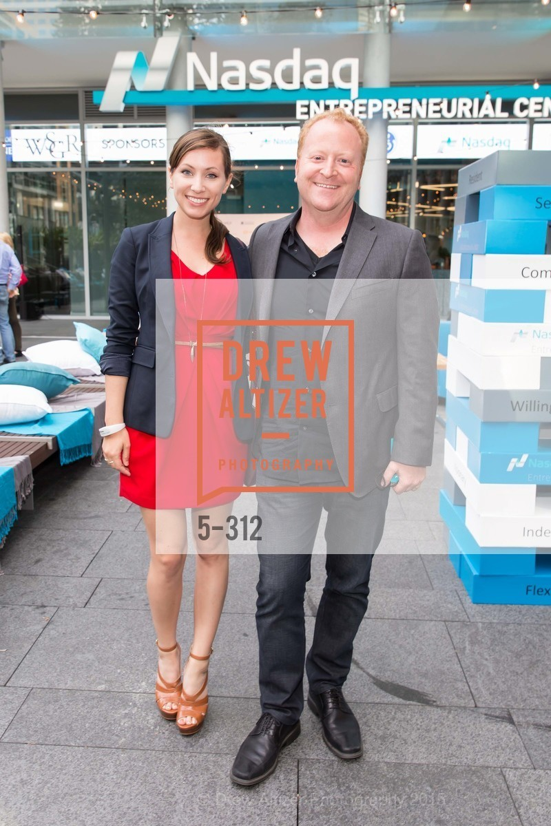 Elana Gurney, Brett Murray, Nasdaq 25th Anniversary, Foundry III. 505 Howard Street, September 24th, 2015,Drew Altizer, Drew Altizer Photography, full-service agency, private events, San Francisco photographer, photographer california