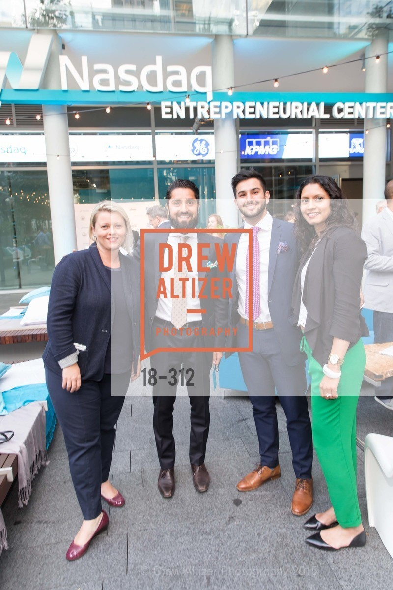 Heather Kernahan, Roh Habibi, Obeid Habibi, Sahana Jayaraman, Nasdaq 25th Anniversary, Foundry III. 505 Howard Street, September 24th, 2015,Drew Altizer, Drew Altizer Photography, full-service agency, private events, San Francisco photographer, photographer california
