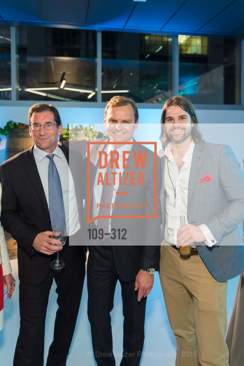 Robert Greifeld, Bruce Aust, Rohan Workman, Nasdaq 25th Anniversary, Foundry III. 505 Howard Street, September 24th, 2015,Drew Altizer, Drew Altizer Photography, full-service agency, private events, San Francisco photographer, photographer california