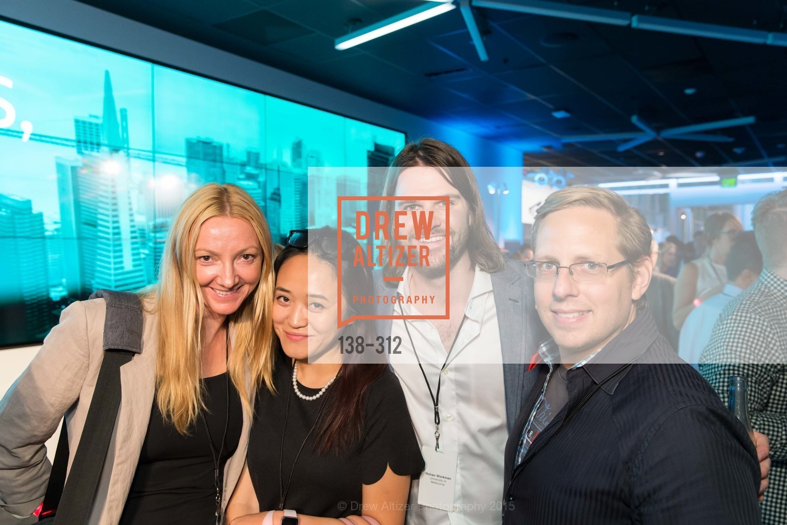 Enessa Obenhuber, Diane Ding, Rohan Workman, Nasdaq 25th Anniversary, Foundry III. 505 Howard Street, September 24th, 2015,Drew Altizer, Drew Altizer Photography, full-service agency, private events, San Francisco photographer, photographer california