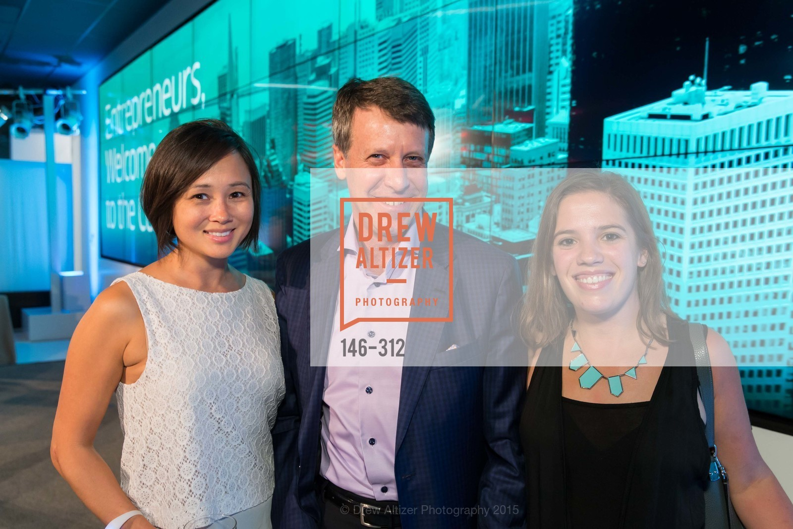 Kirsti Kanerva, Mark Coopersmith, Lauren Lloyd, Nasdaq 25th Anniversary, Foundry III. 505 Howard Street, September 24th, 2015,Drew Altizer, Drew Altizer Photography, full-service event agency, private events, San Francisco photographer, photographer California