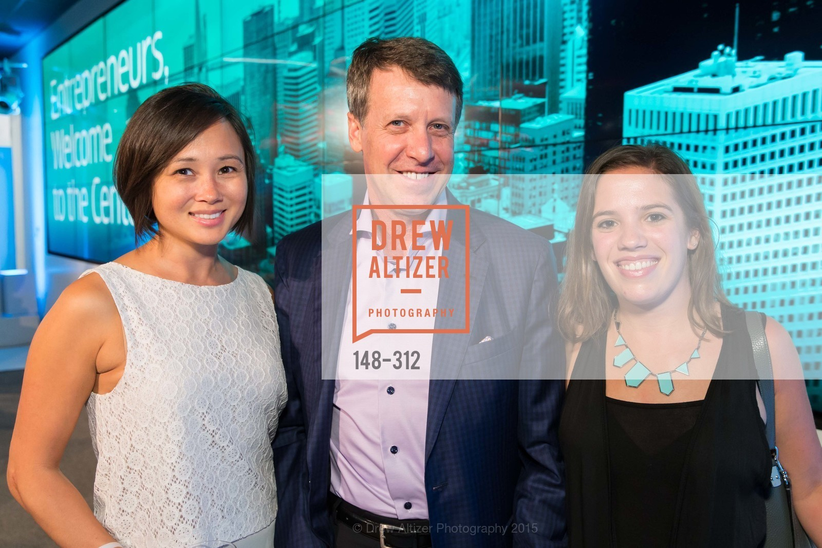 Kirsti Kanerva, Mark Coopersmith, Lauren Lloyd, Nasdaq 25th Anniversary, Foundry III. 505 Howard Street, September 24th, 2015,Drew Altizer, Drew Altizer Photography, full-service agency, private events, San Francisco photographer, photographer california