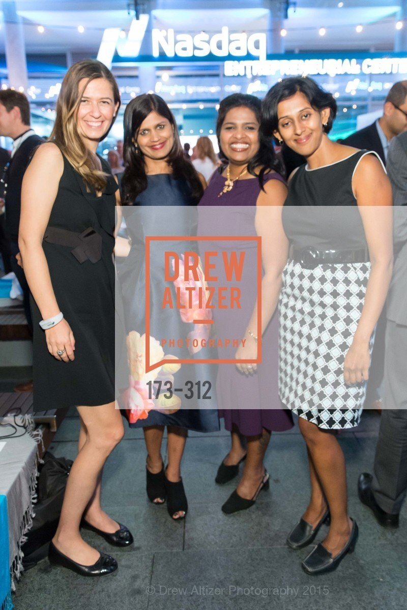 Belis Sly, Dhana Pawar, Shobha Srinivasa, Sapna Satagopan, Nasdaq 25th Anniversary, Foundry III. 505 Howard Street, September 24th, 2015,Drew Altizer, Drew Altizer Photography, full-service agency, private events, San Francisco photographer, photographer california