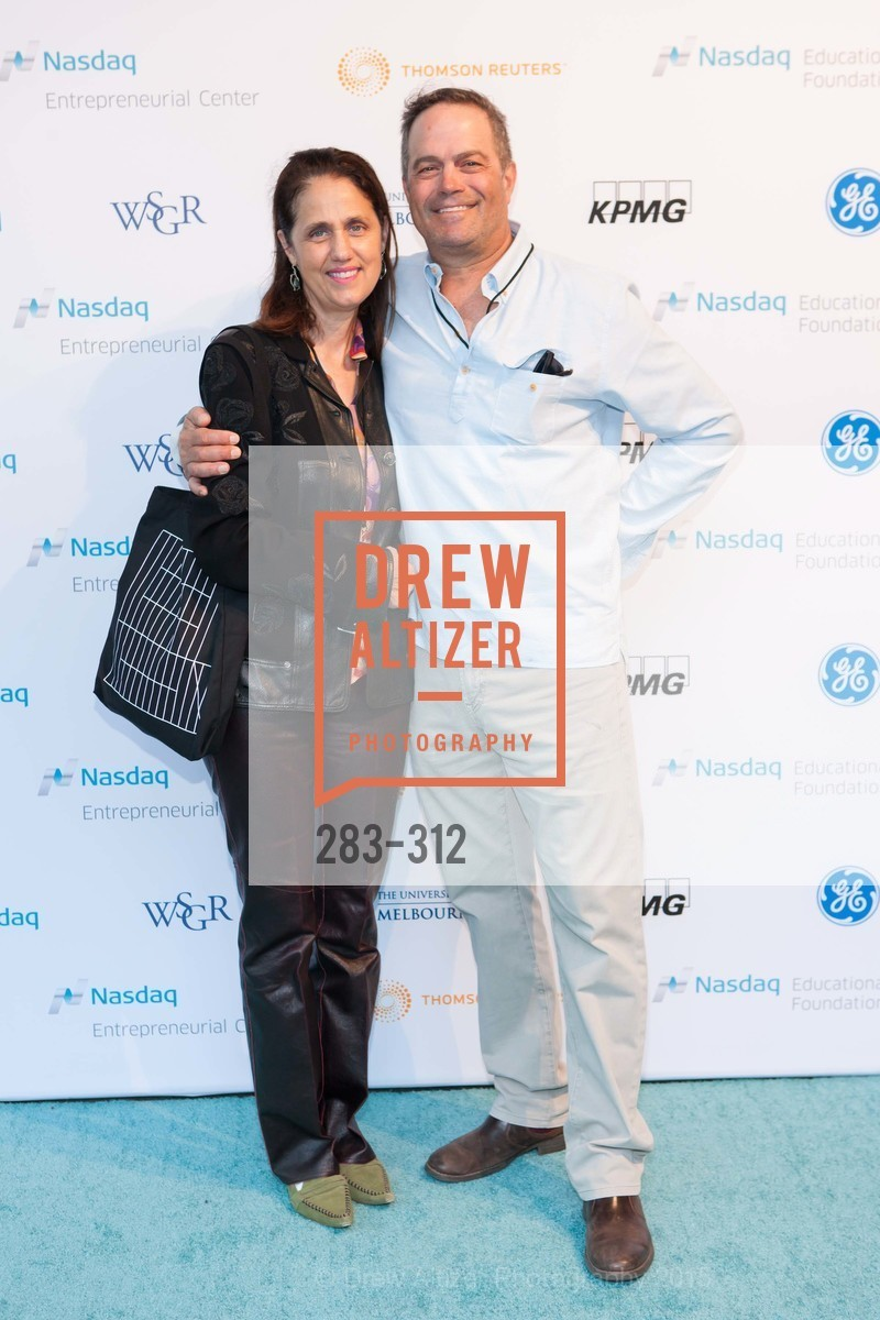 April Bucksbaum, Glenn Bucksbaum, Nasdaq 25th Anniversary, Foundry III. 505 Howard Street, September 24th, 2015,Drew Altizer, Drew Altizer Photography, full-service agency, private events, San Francisco photographer, photographer california