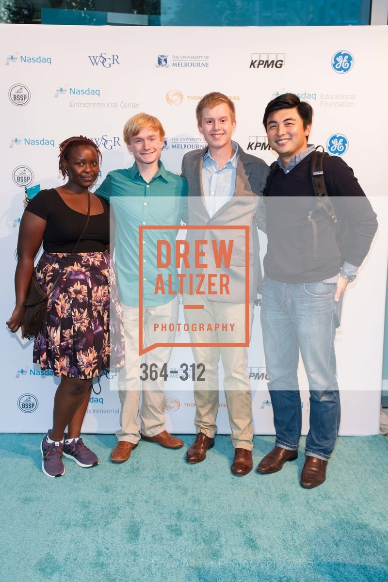 Martha Chumo, Coby Anderson, Matthew Vossman, Mike Wang, Nasdaq 25th Anniversary, Foundry III. 505 Howard Street, September 24th, 2015,Drew Altizer, Drew Altizer Photography, full-service agency, private events, San Francisco photographer, photographer california