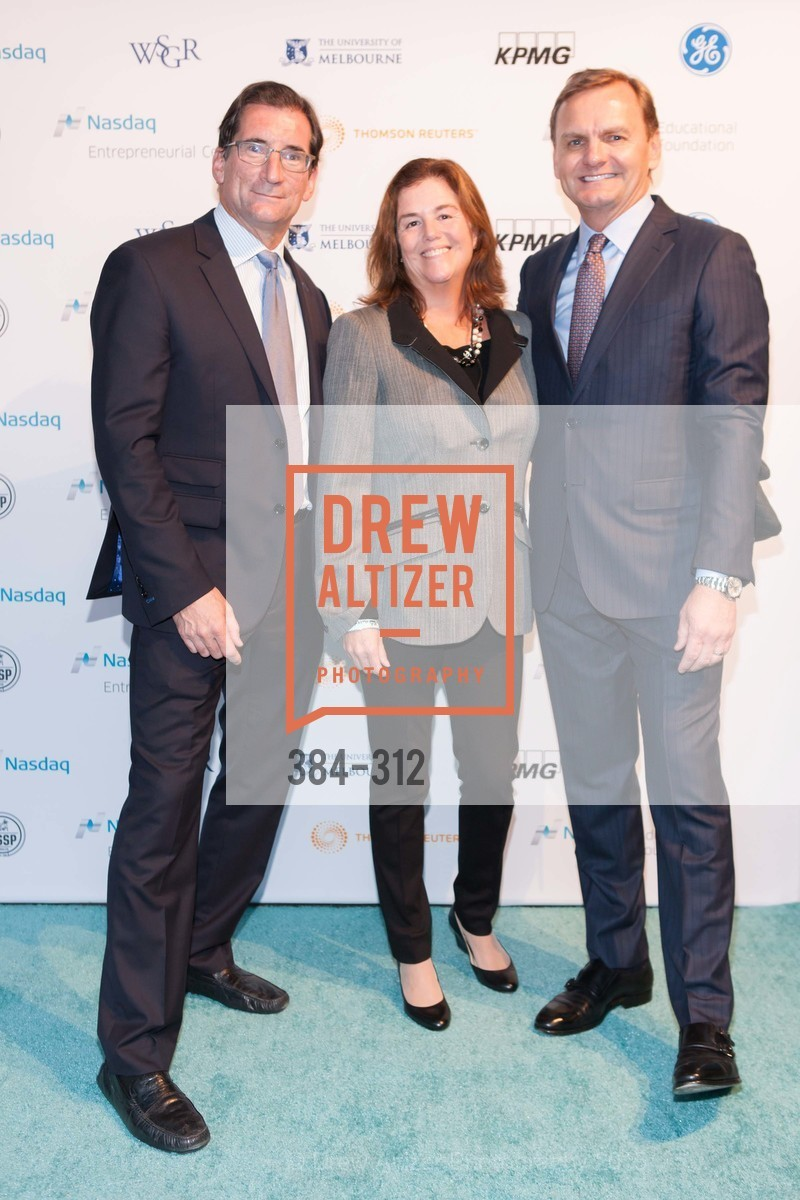 Robert Greifeld, Julia Greifeld, Bruce Aust, Nasdaq 25th Anniversary, Foundry III. 505 Howard Street, September 24th, 2015,Drew Altizer, Drew Altizer Photography, full-service agency, private events, San Francisco photographer, photographer california
