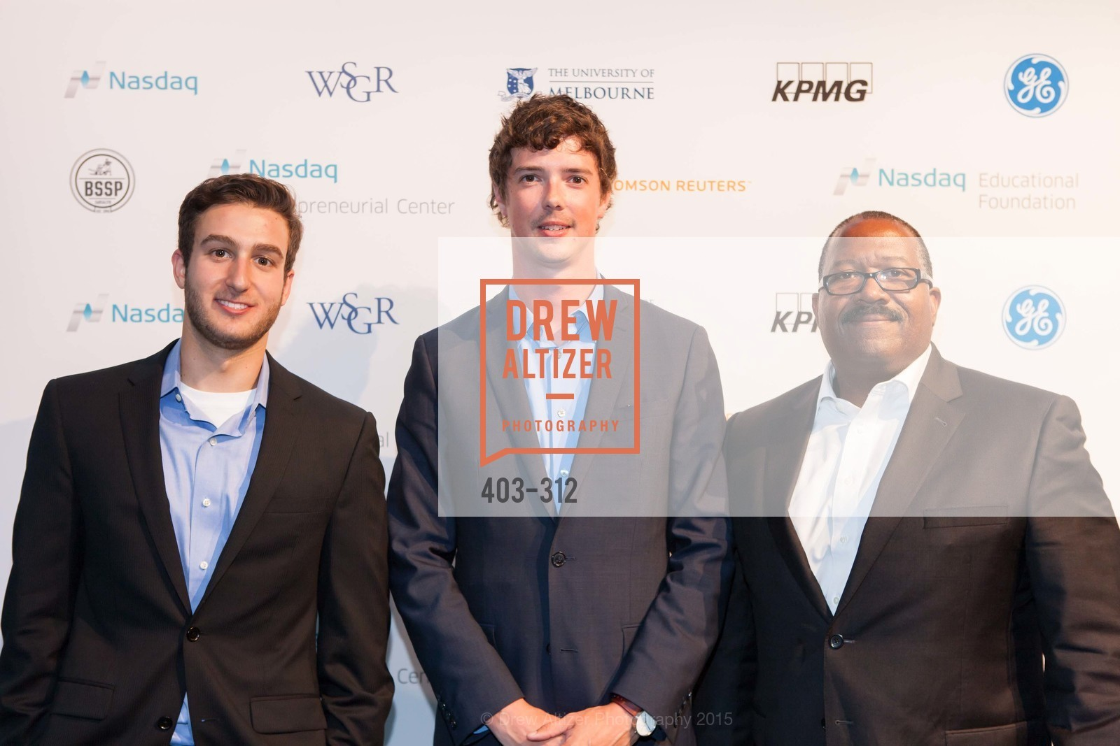 Brandon Karp, Austin Breckets, Kevin Brown, Nasdaq 25th Anniversary, Foundry III. 505 Howard Street, September 24th, 2015,Drew Altizer, Drew Altizer Photography, full-service agency, private events, San Francisco photographer, photographer california